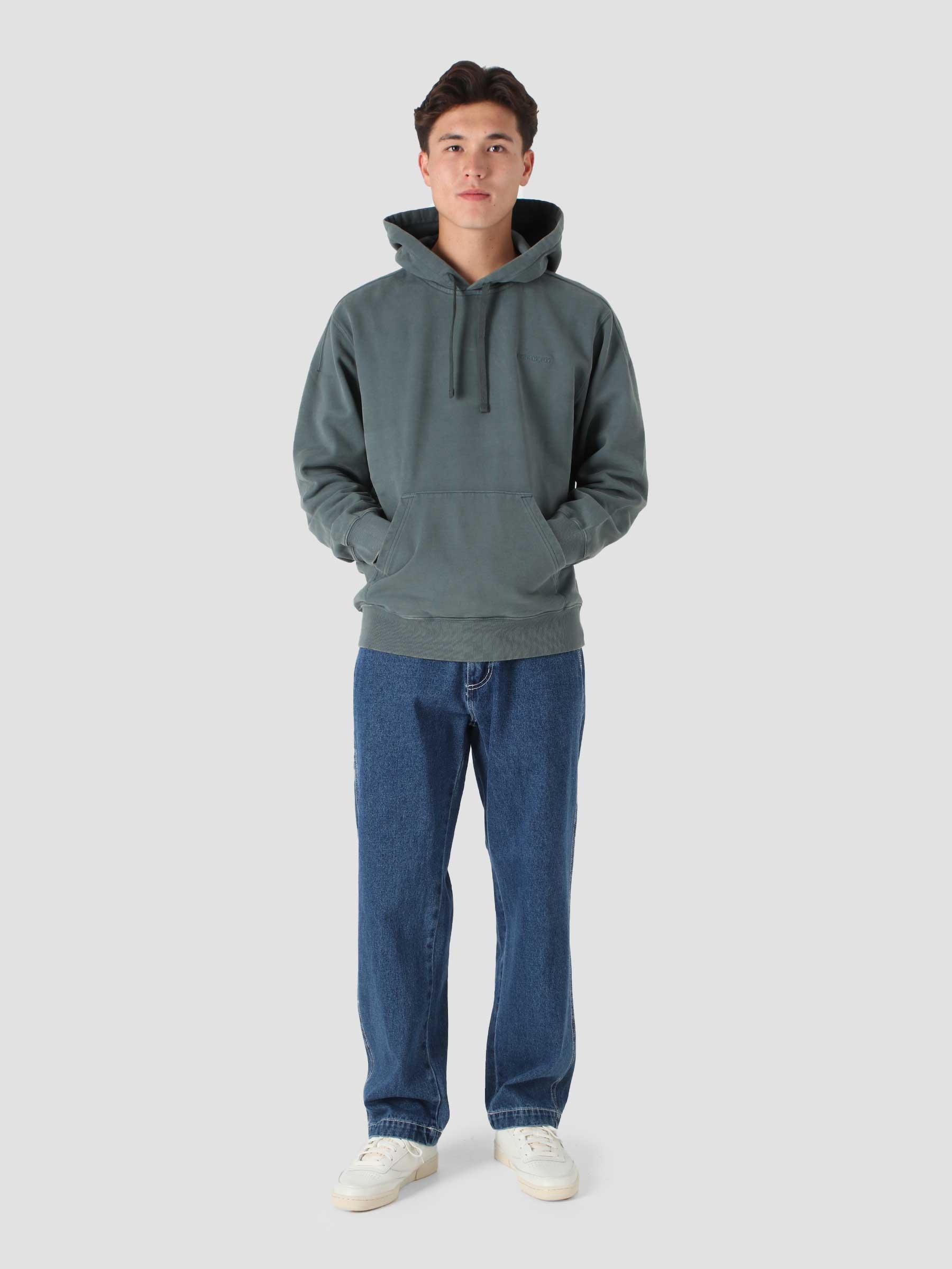 Hooded Ashfield Sweat Slate I029527