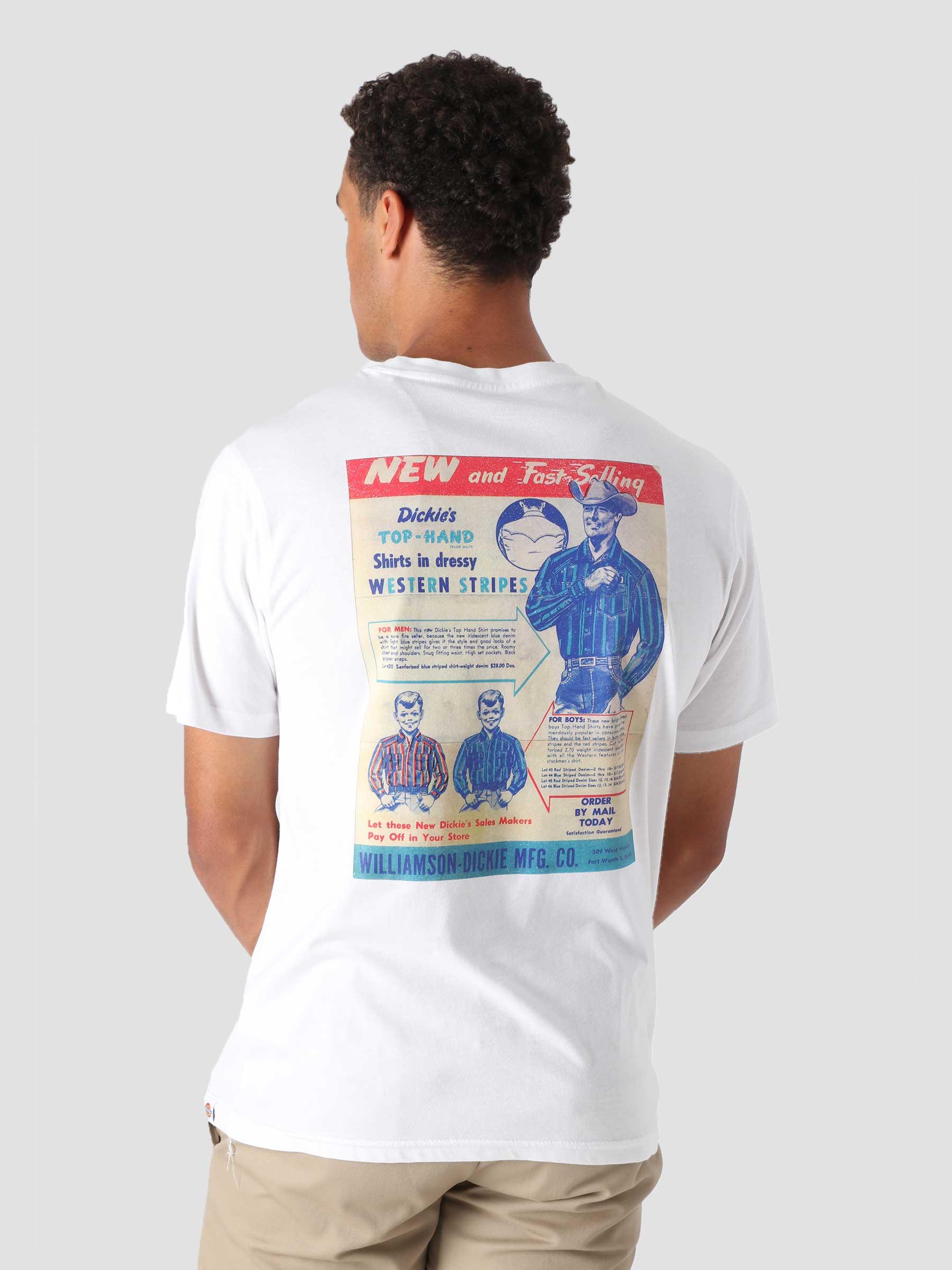 Success Shortsleeve T-Shirt White DK0A4XHEWHX