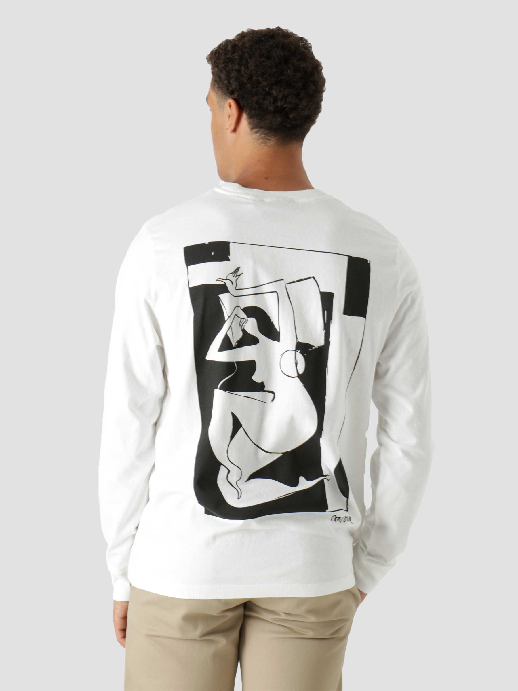 Rest Day Long Sleeve T-Shirt White 46210