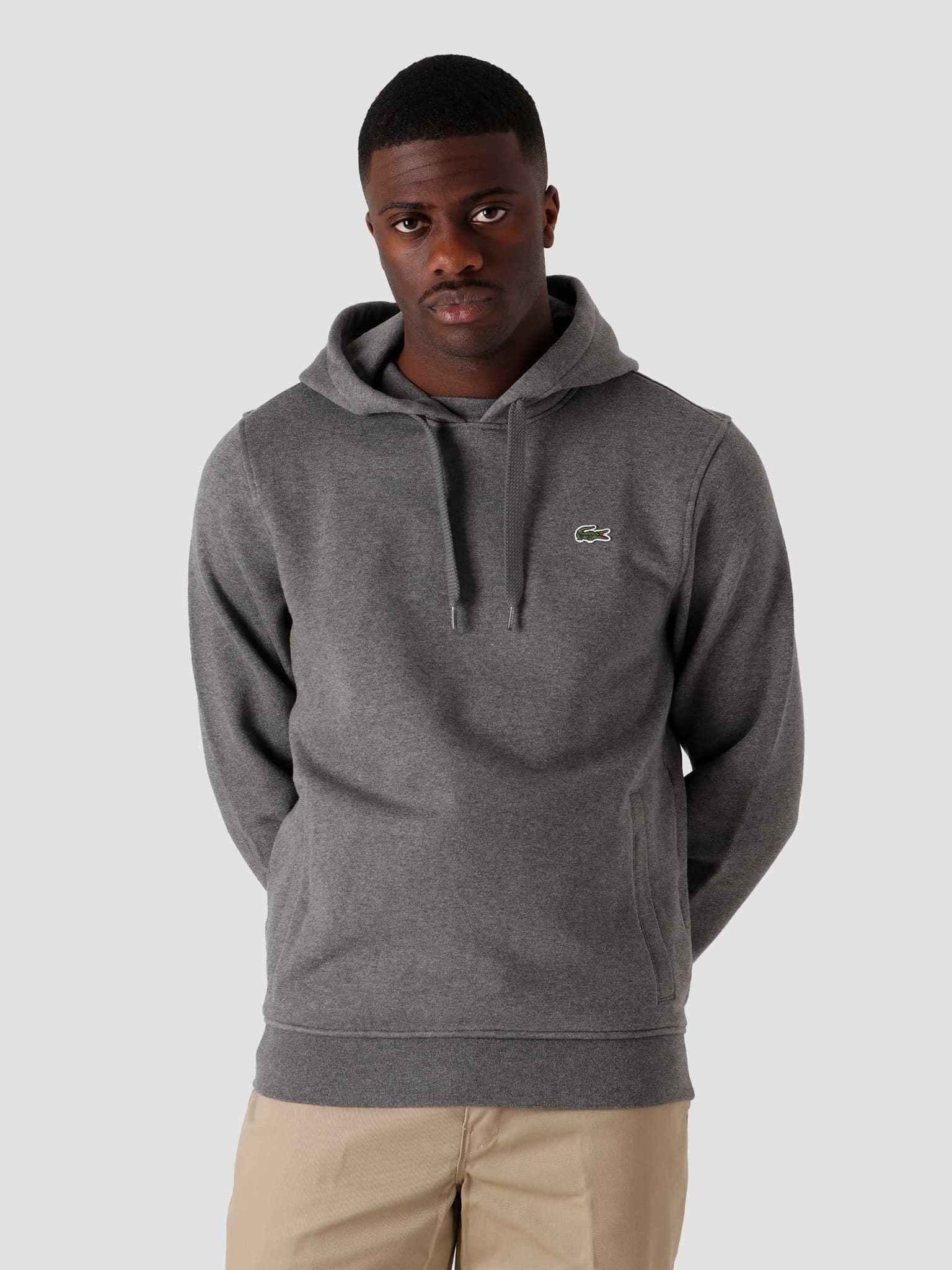 1HS1 Men's Sweater Pitch Chine Graphite Somb SH1527-11