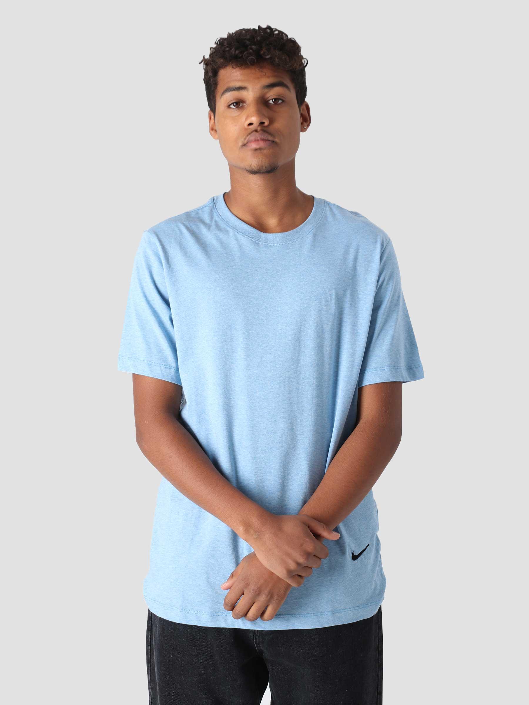 M NSW T-Shirt Sustainability Dutch Blue Htr Black DM2386-469