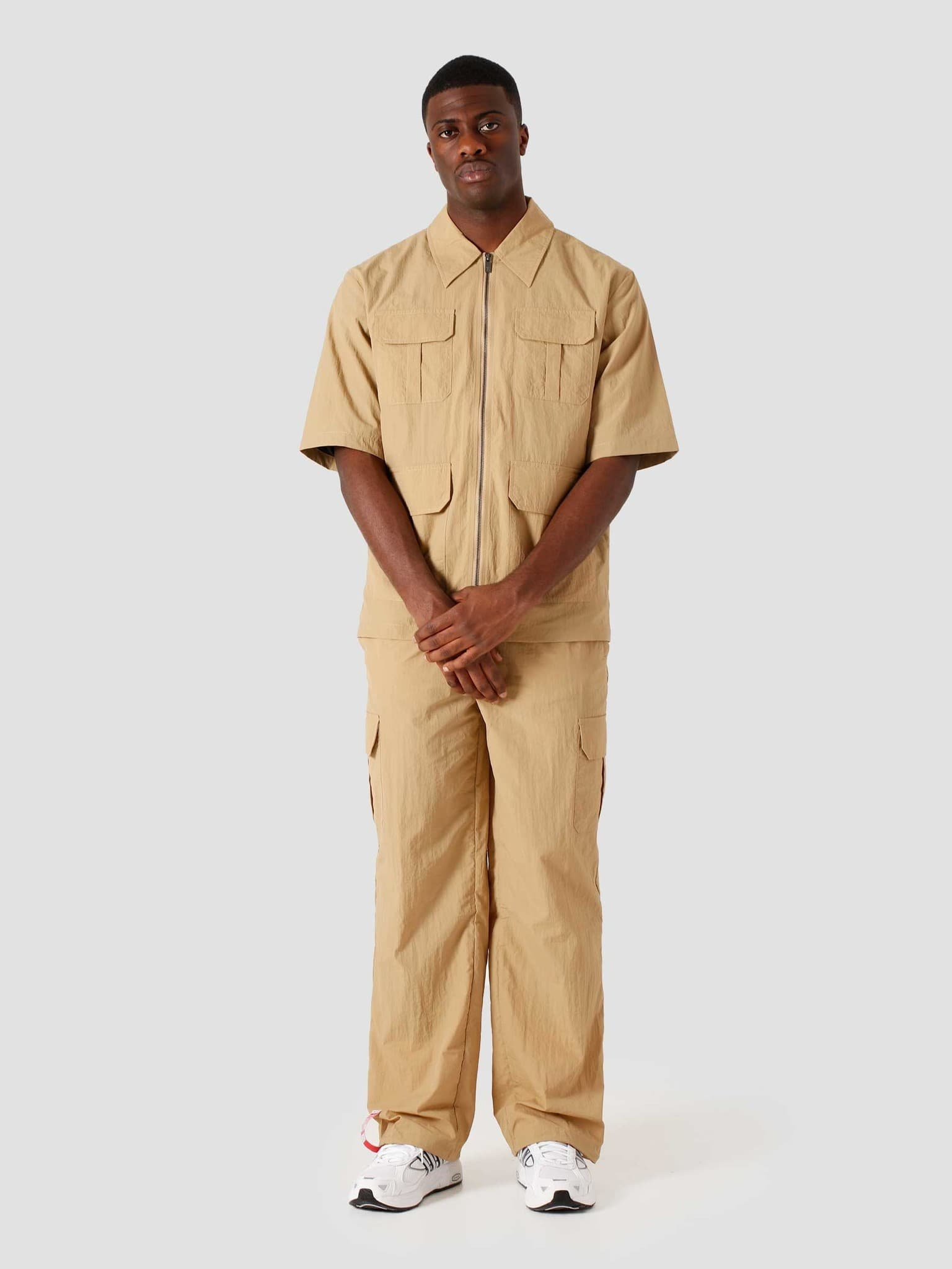 Khalil Short Sleeve Beige 2111121