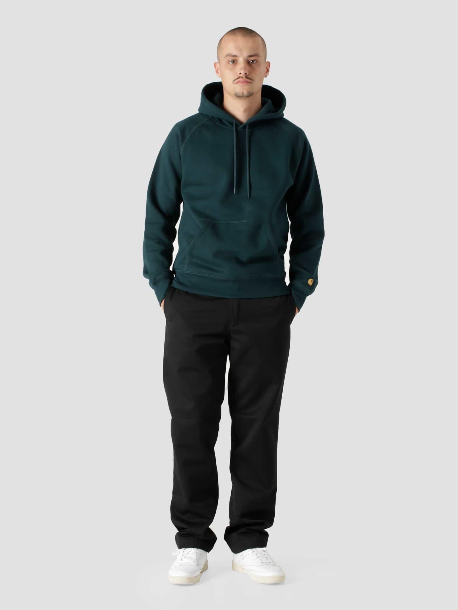 Hooded Chase Sweat Frasier Gold I026384