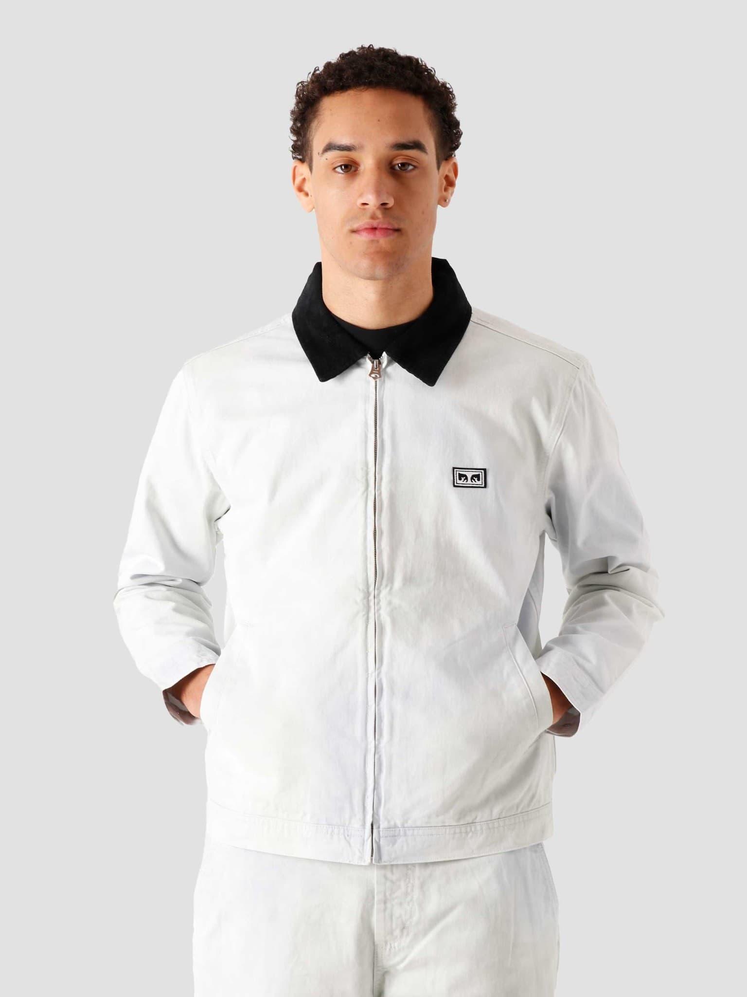 Tie Dye Work Jacket Good Grey Multi 121800471-GYM