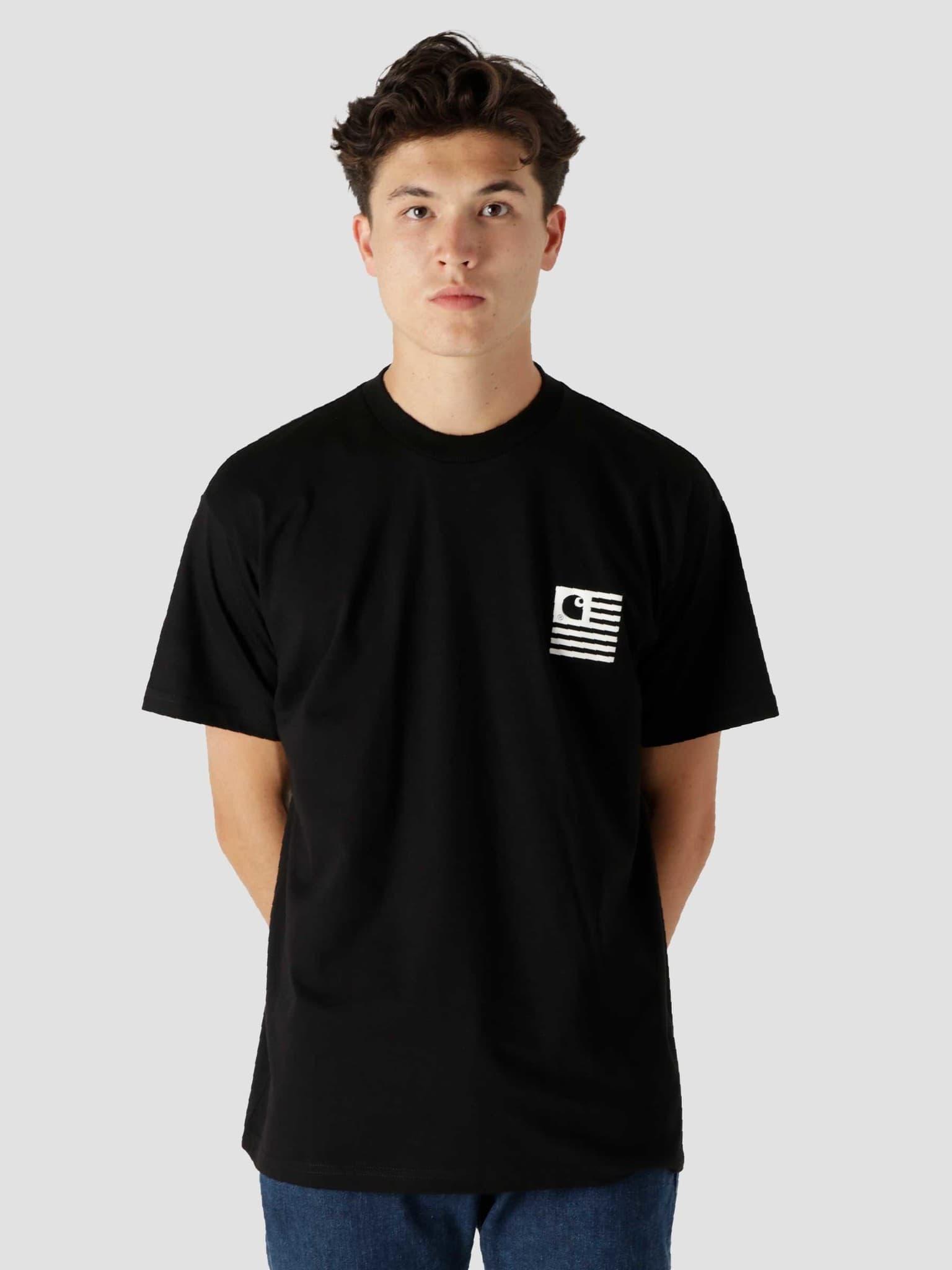 Fade State T-Shirt Black White I029607