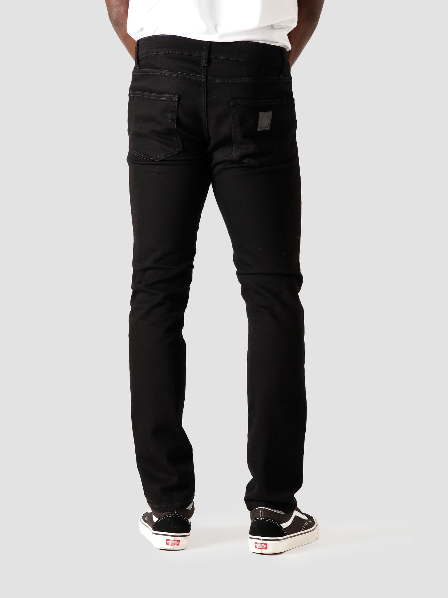 Rebel Pant Rinsed Black I024947-8902