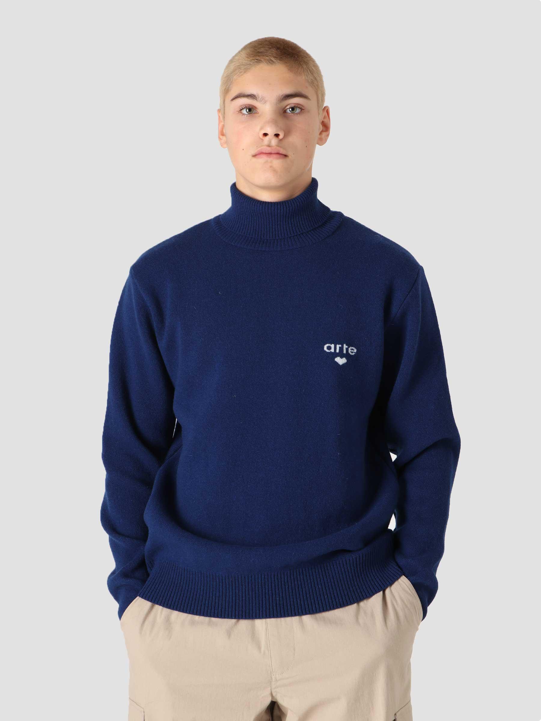Kole Sweater Navy AW21-129K