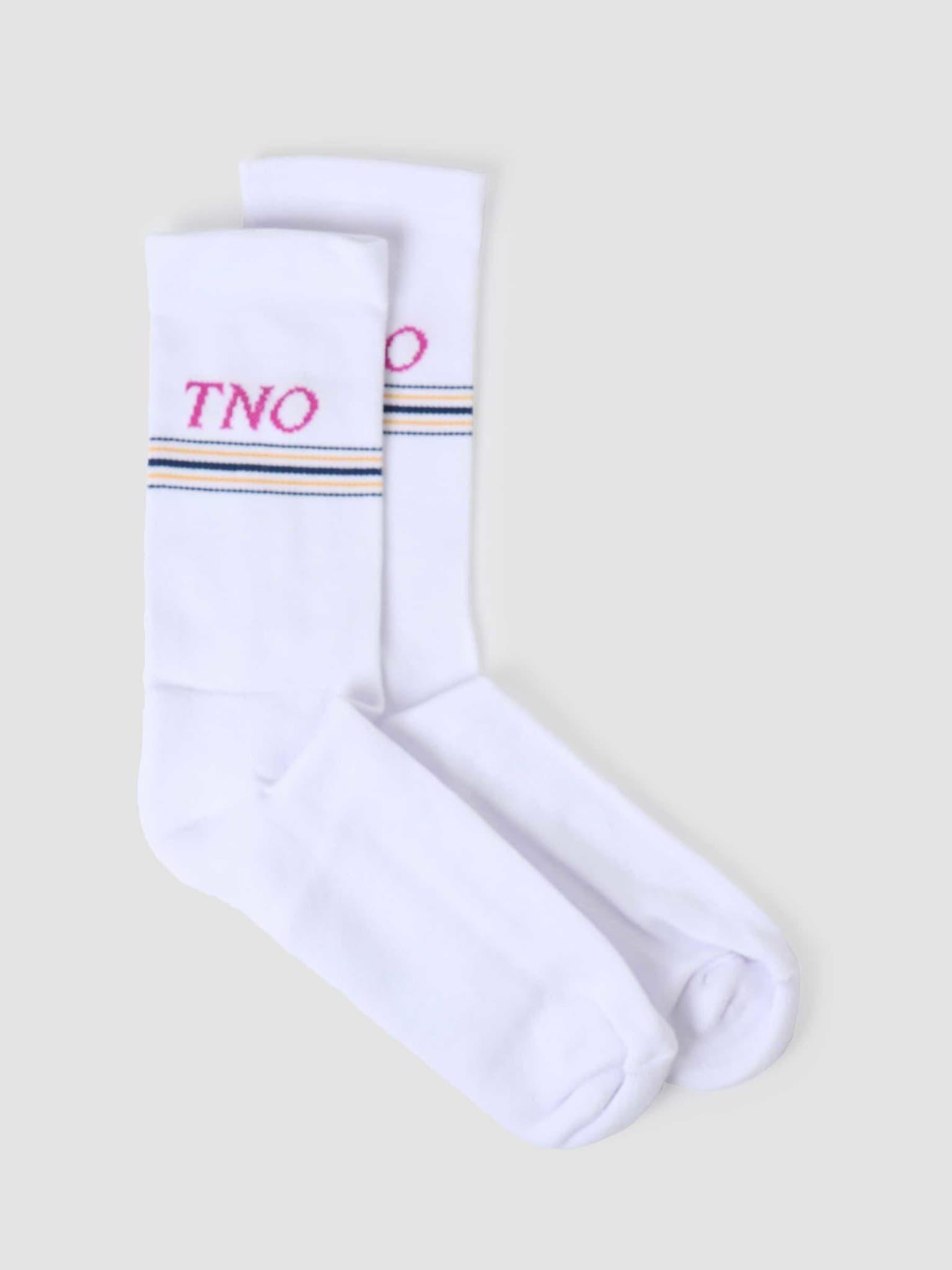 Tno Underline Socks White