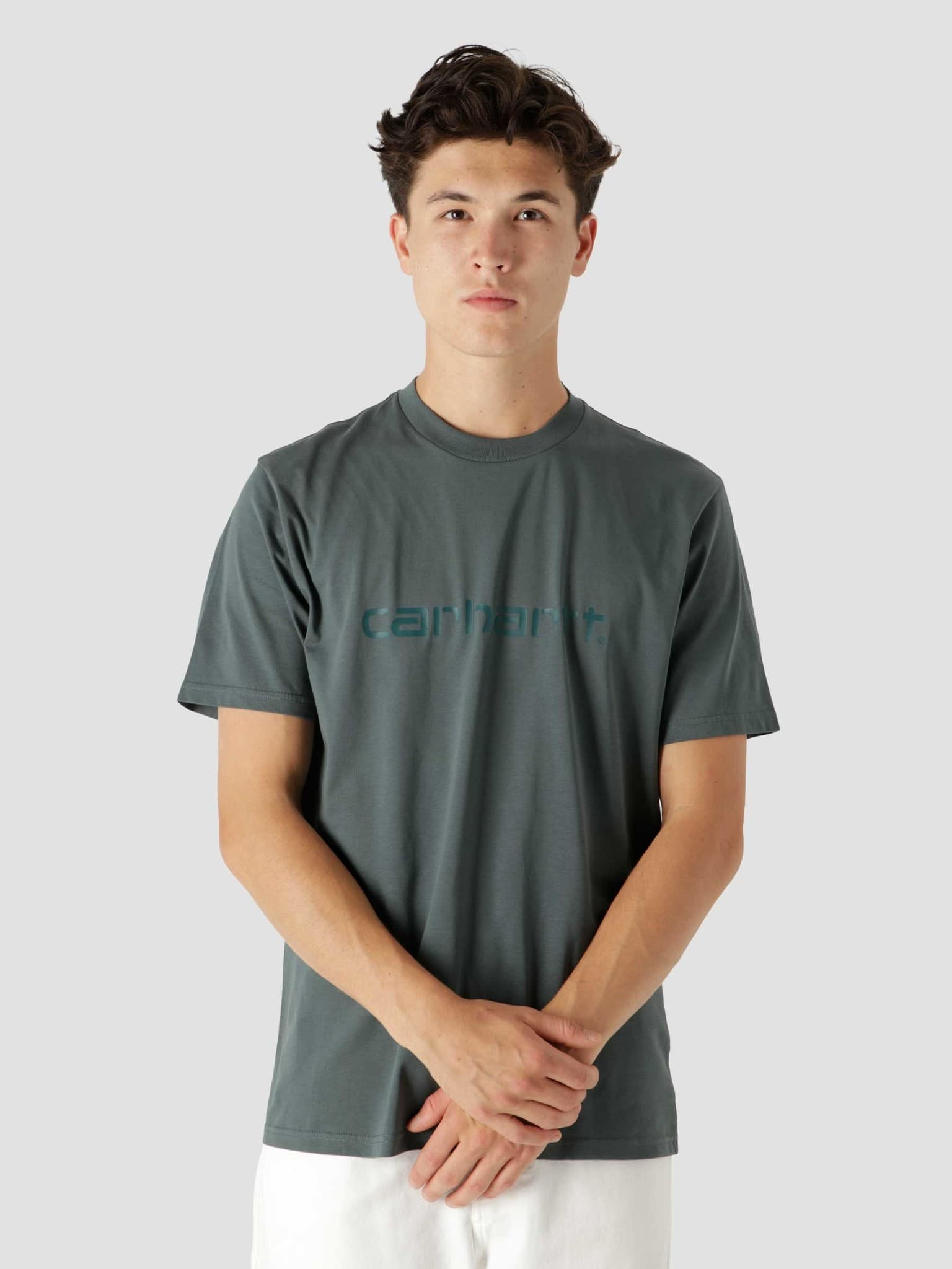 Script T-Shirt Eucalyptus Frasier I029915