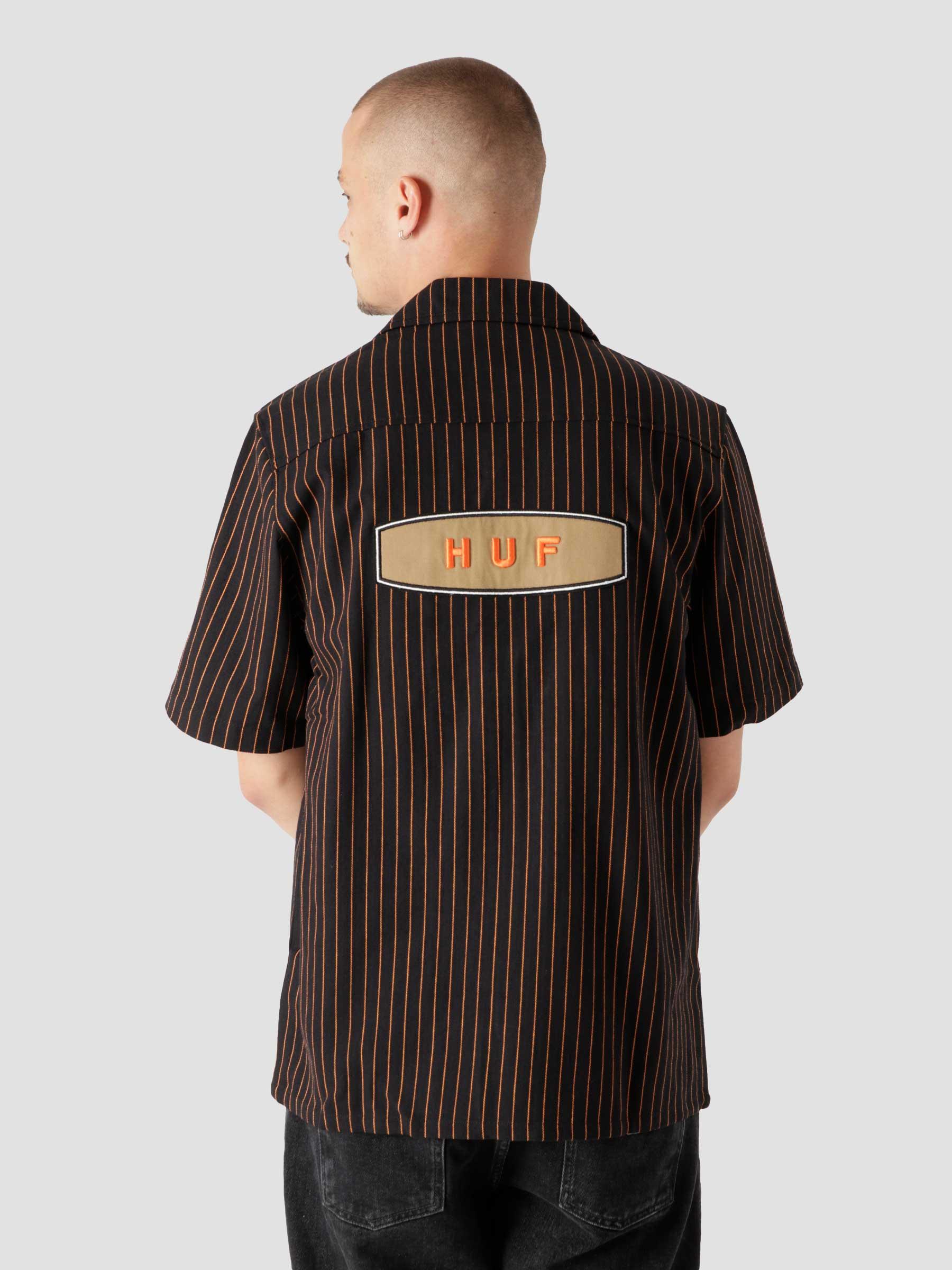 Billy S/S Work Shirt Black BU00107