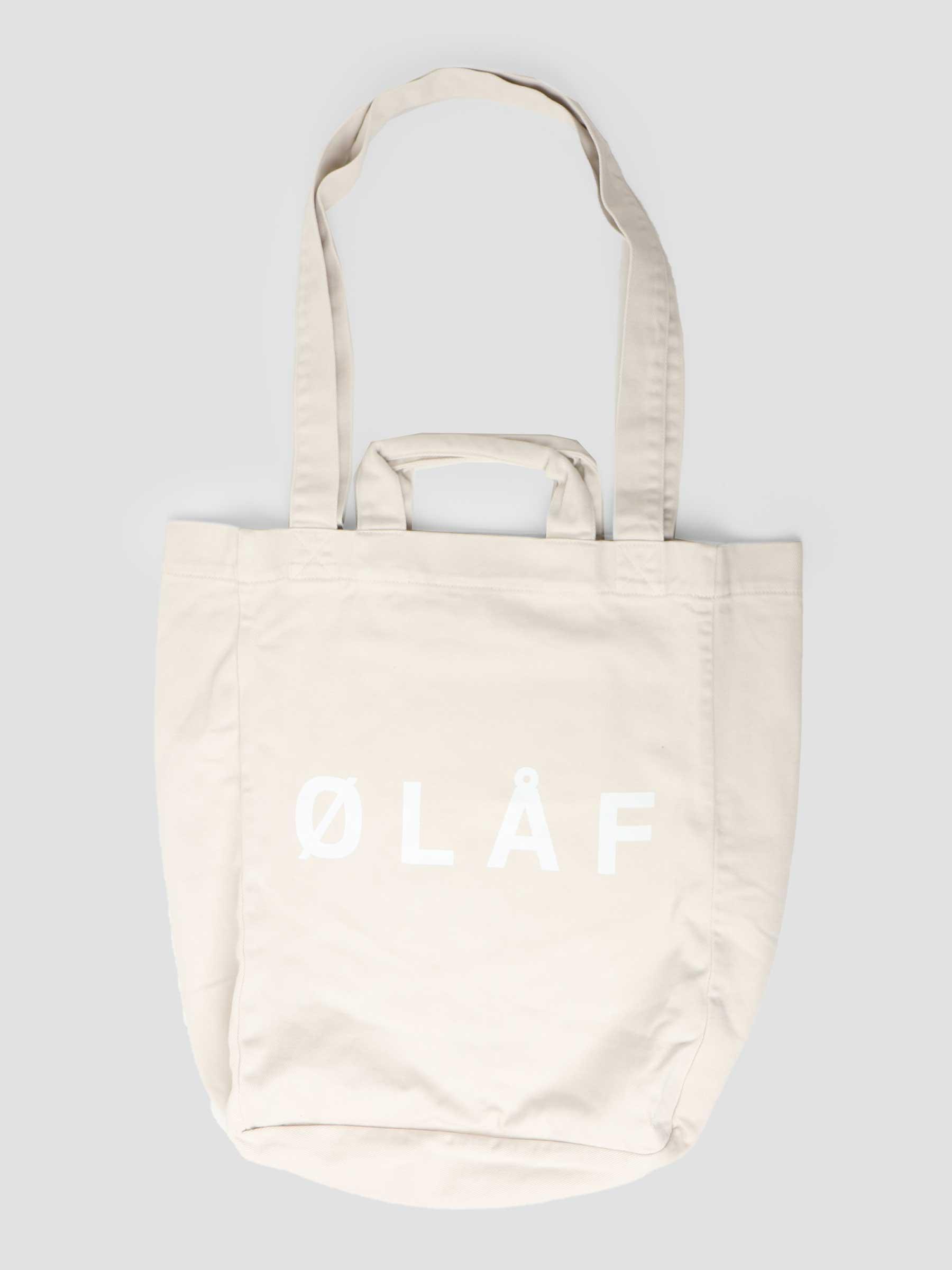 OLAF Tote Bag Beige