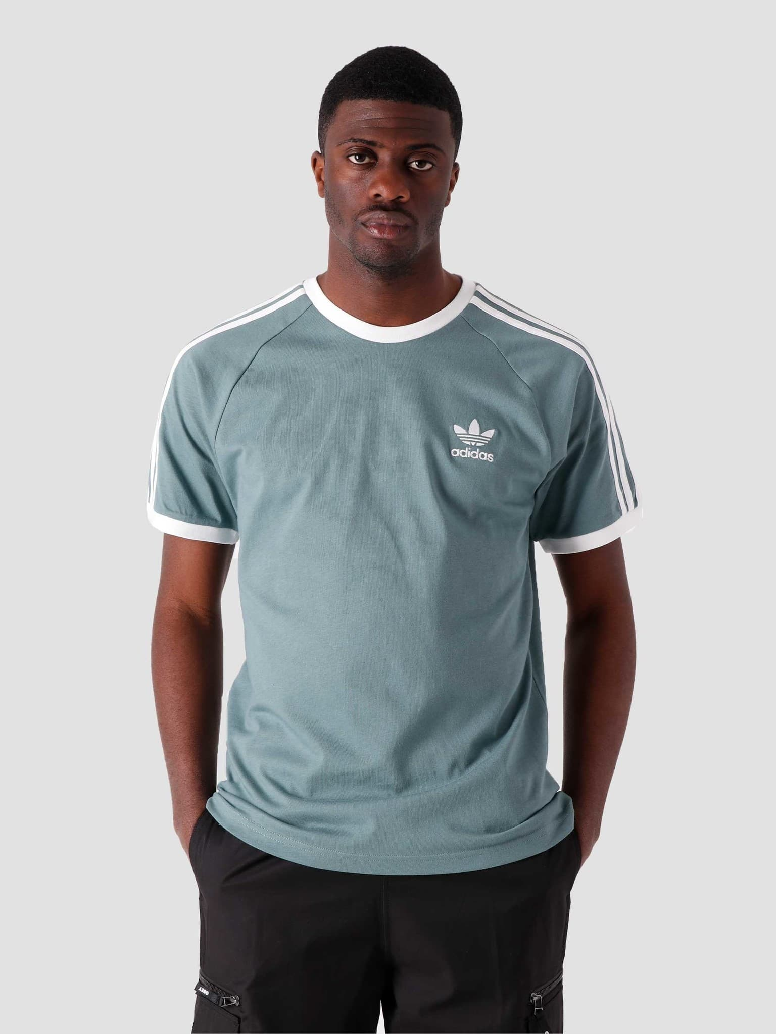 3-Stripes T-Shirt Hazy Emerald GN3479