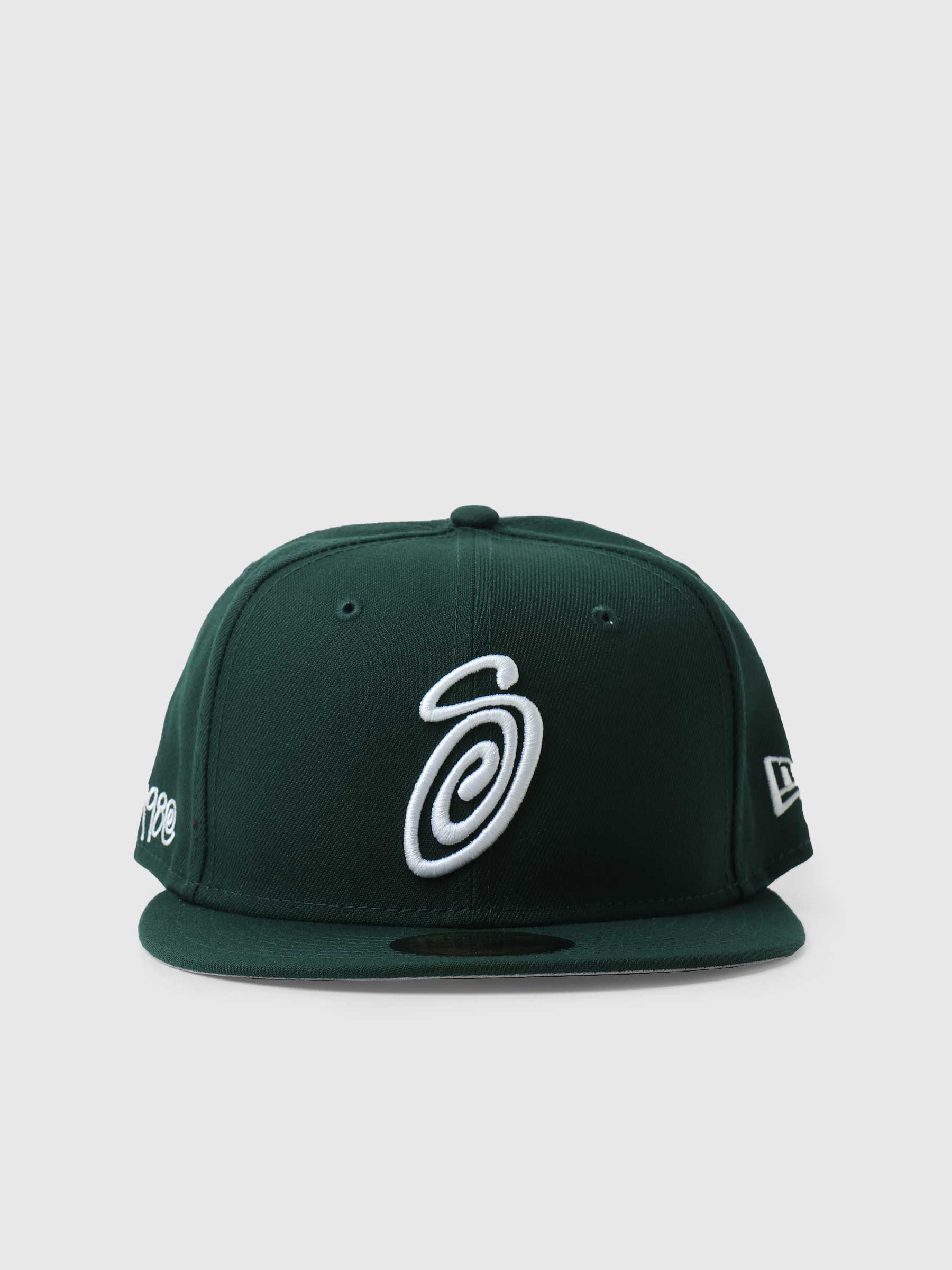 Curly S 59Fifty New Era Cap Forest 1311008