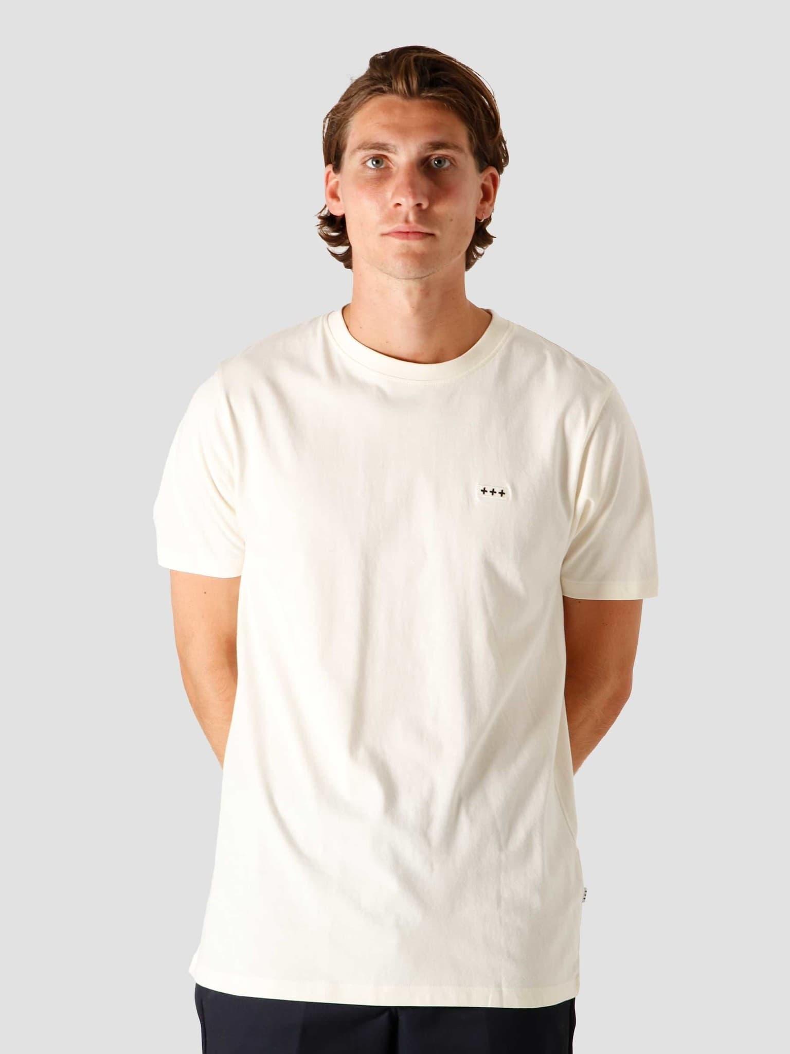 QB03 Patch Logo T-shirt Off White