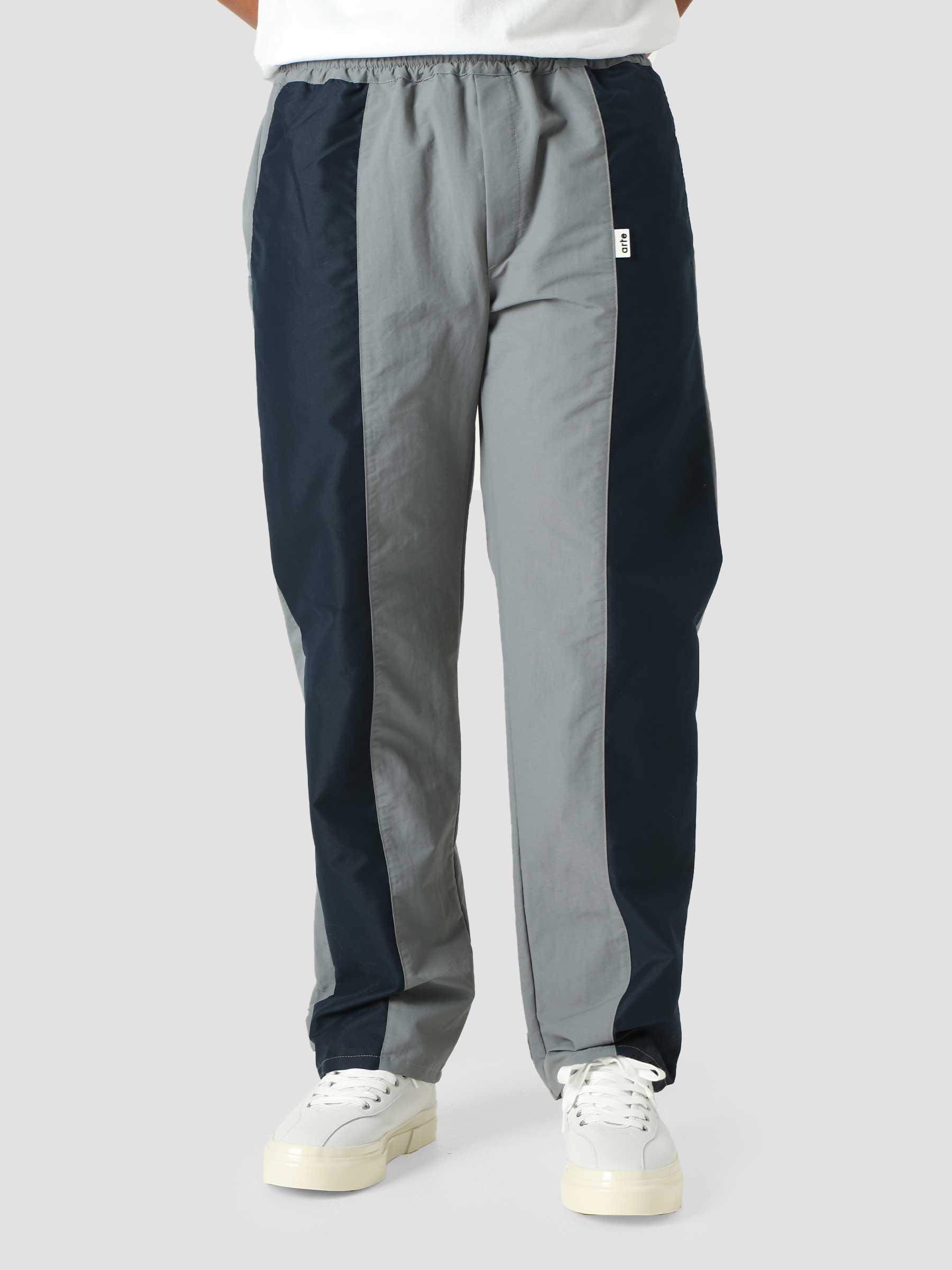 Jaden Pants Pants Grey Navy AW21-074P