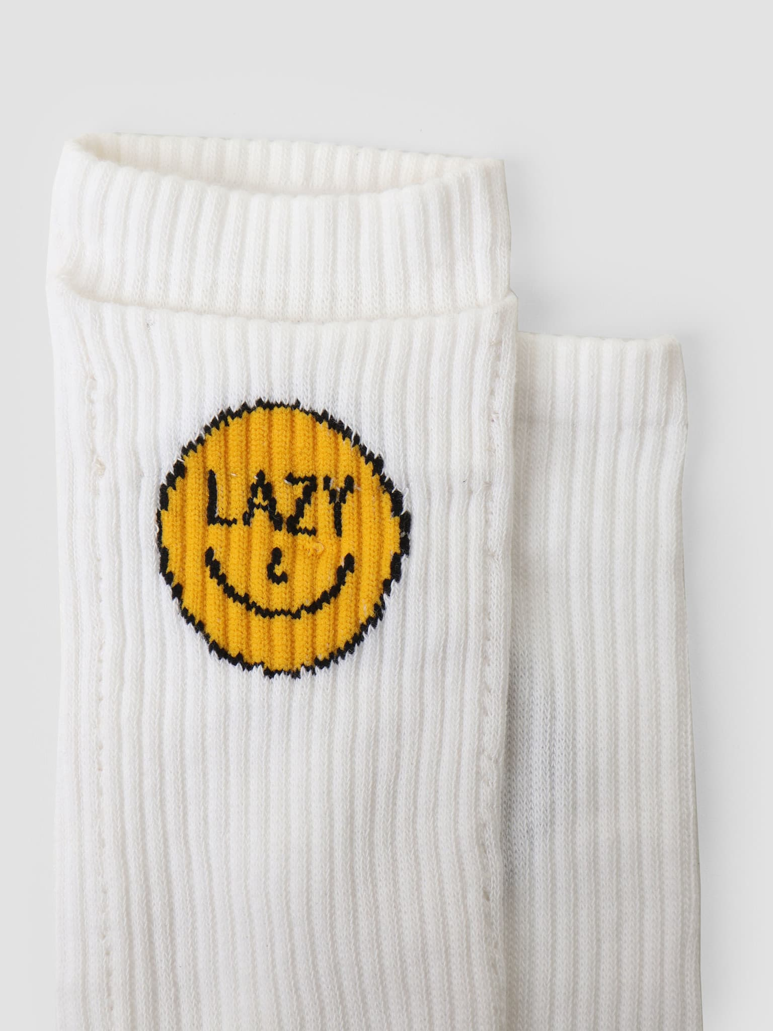 x Pockies Lazy Socks White P600