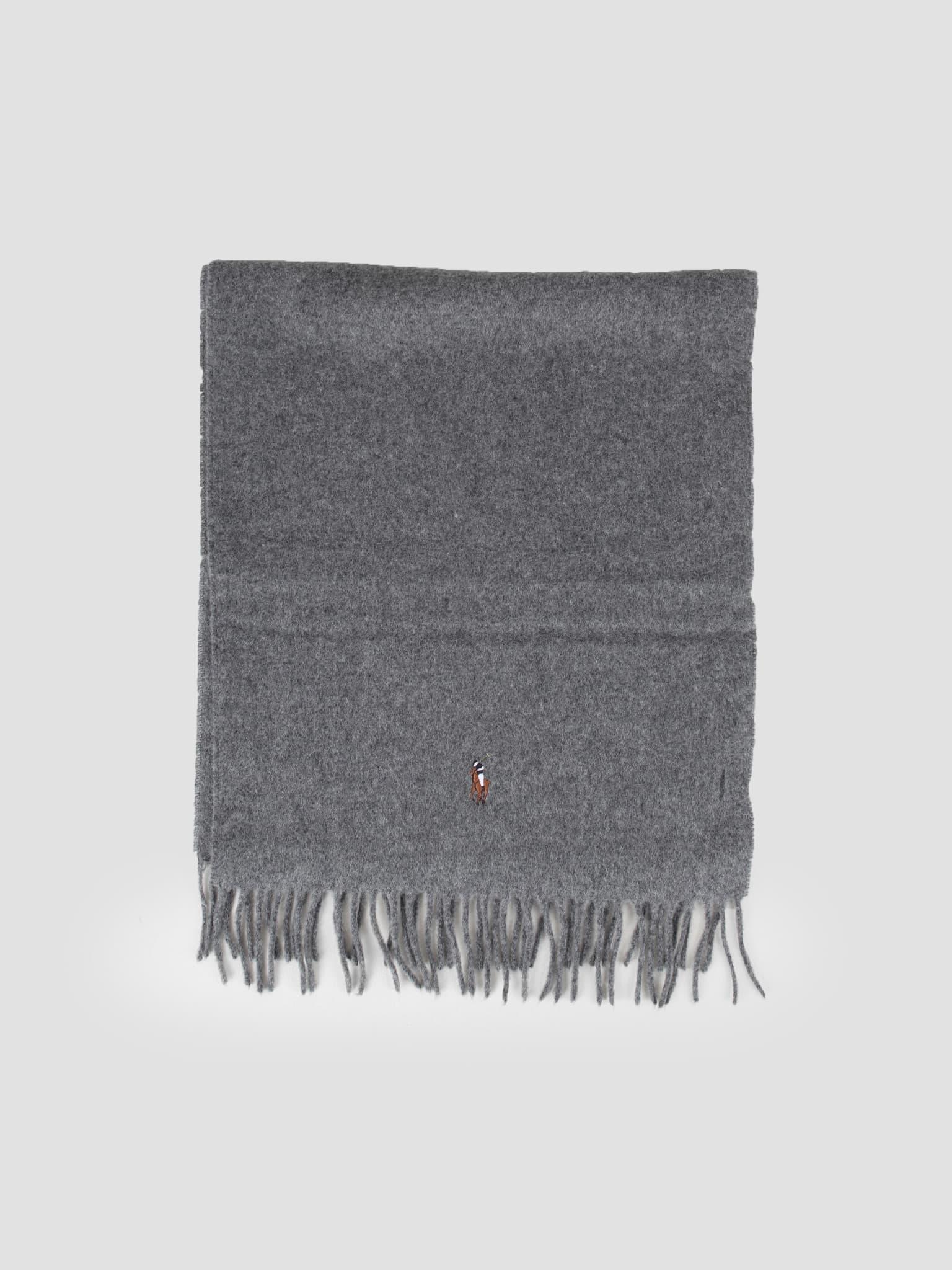 Sign It Wool Oblong Scarf Fawn Grey Hthr 449727530003