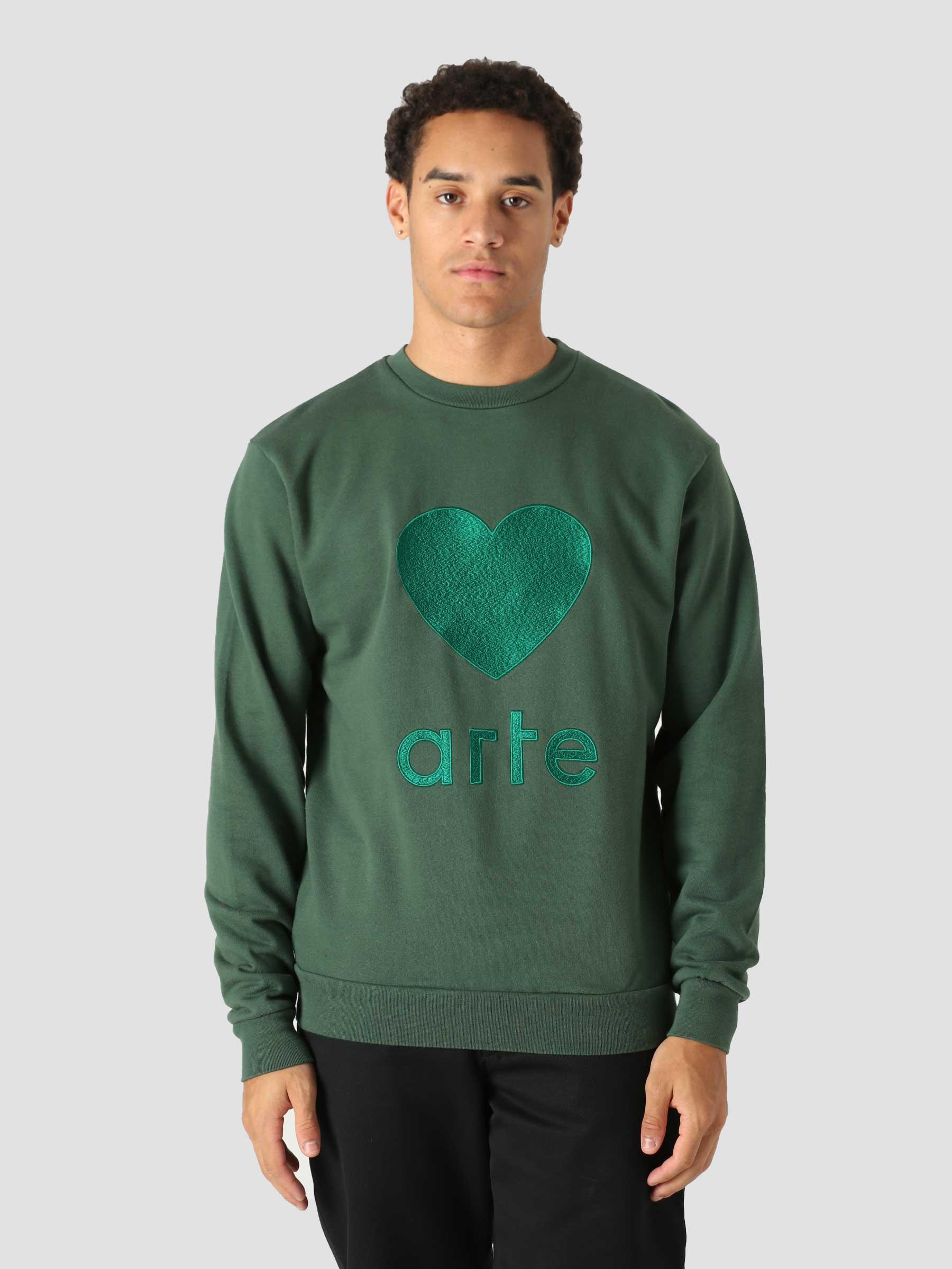 Castel Sweater Green AW21-090C