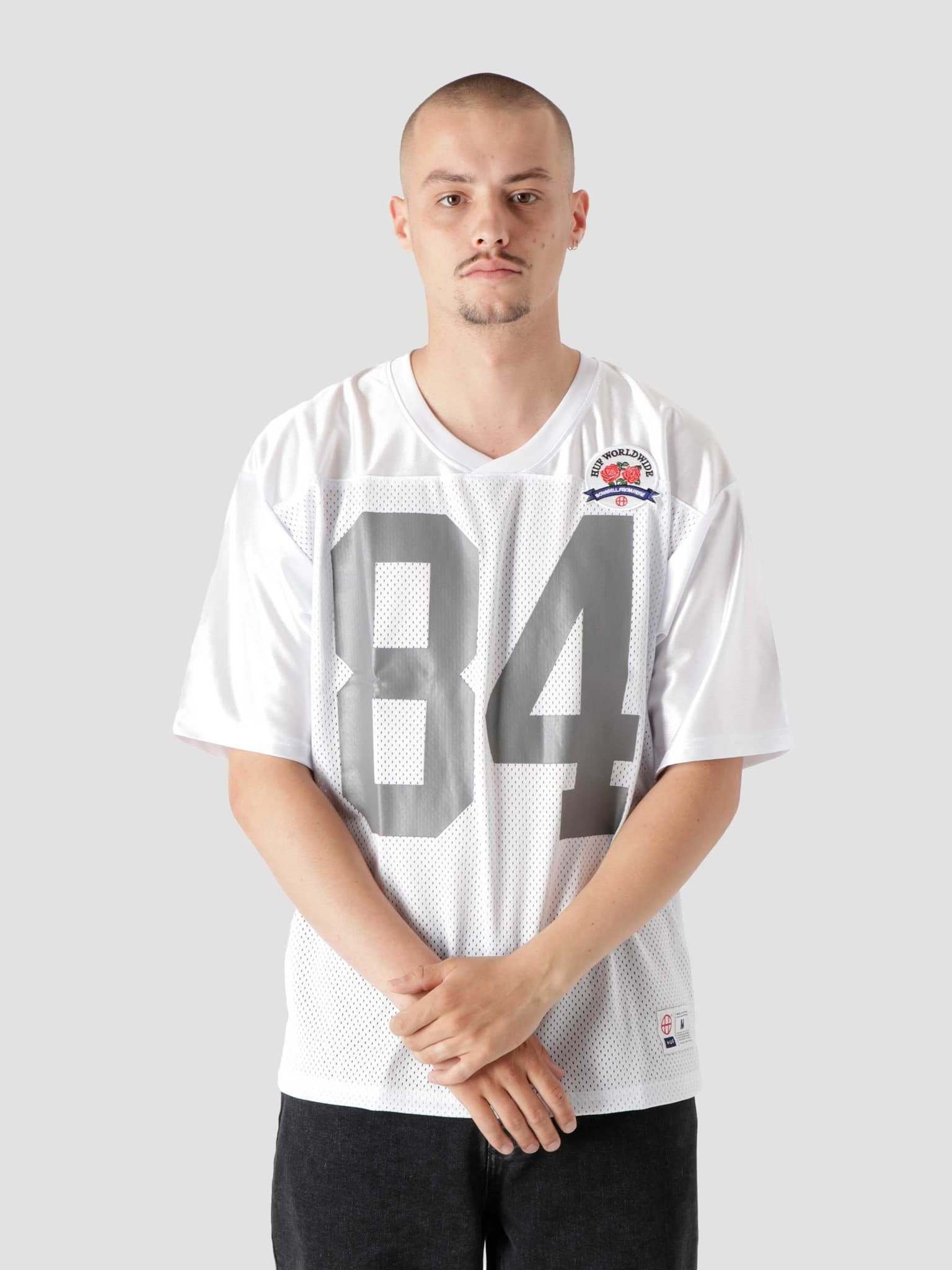 Top Rank Football Jersey White KN00292