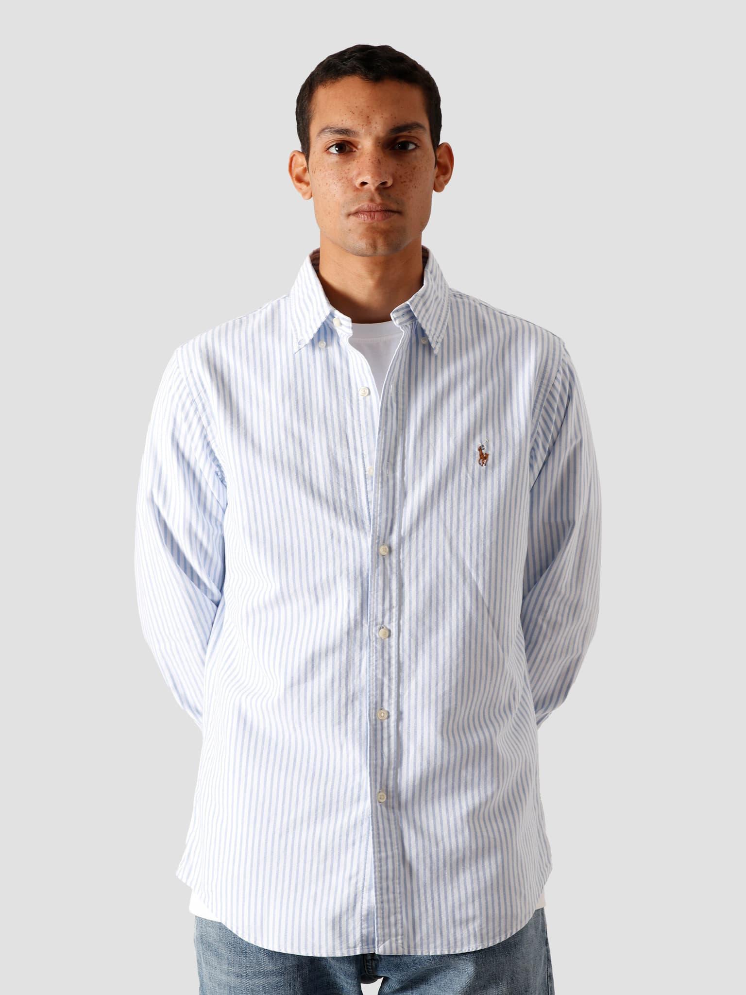 Oxford Sport Shirt 2600A Basic Blue-White 710805531002