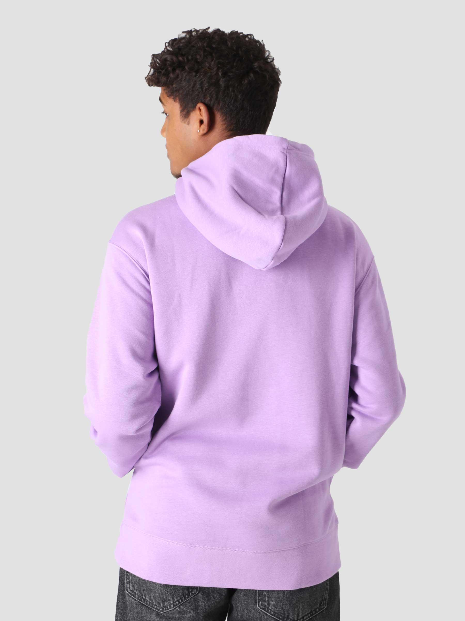 Nike SB Icon Hoody Violet Star Dark Wine CW7064-589