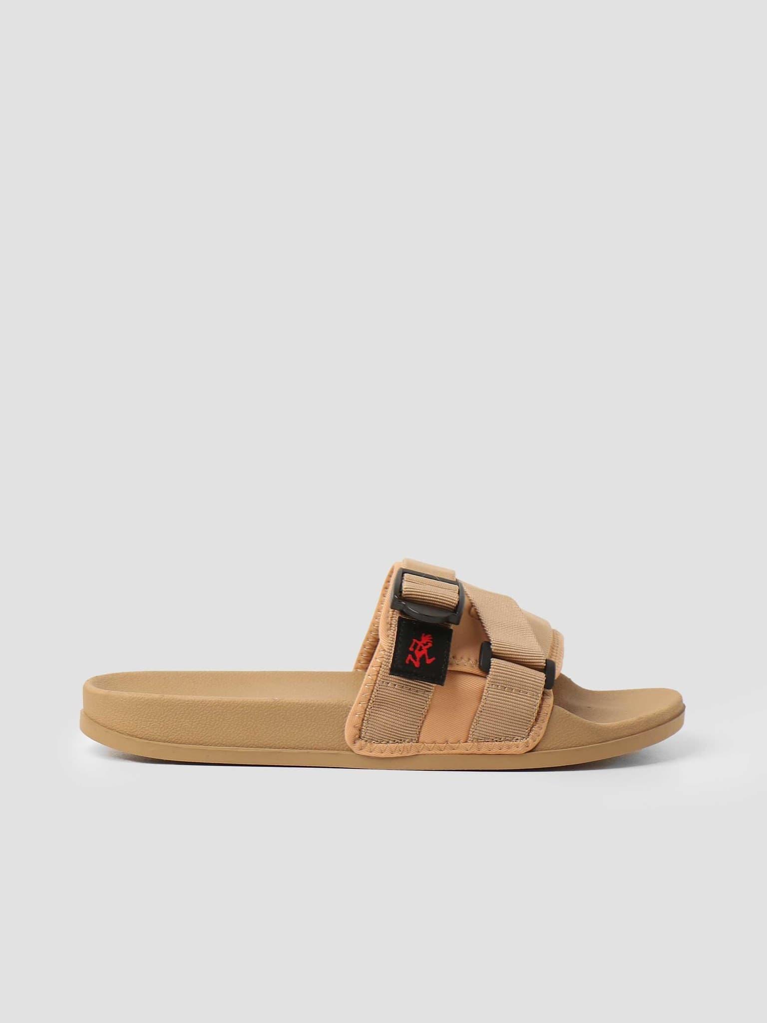 Slide Sandals Beige GRF-004