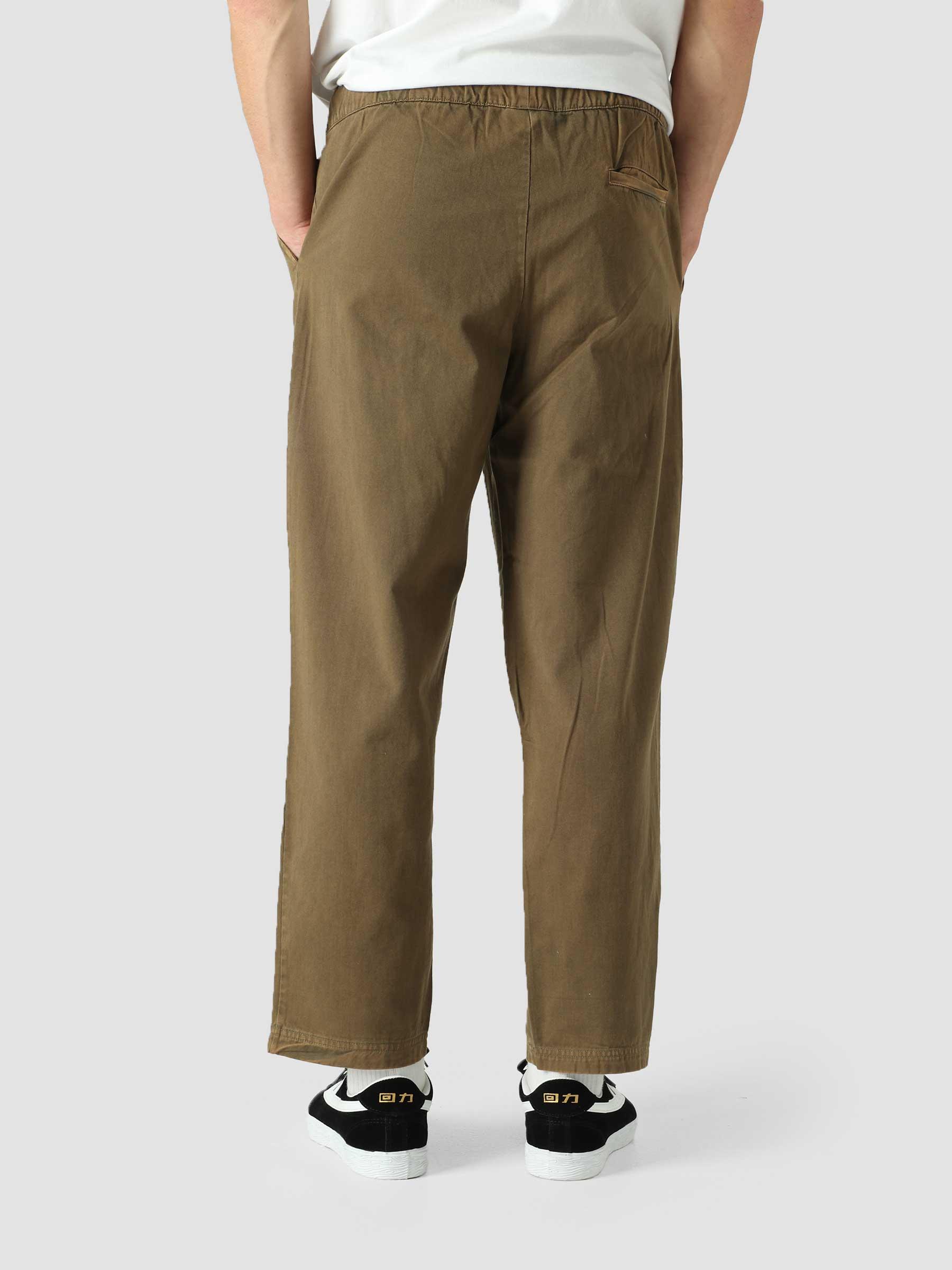 Cotton Twill Pants Dark Olive COWO8Q-GS556