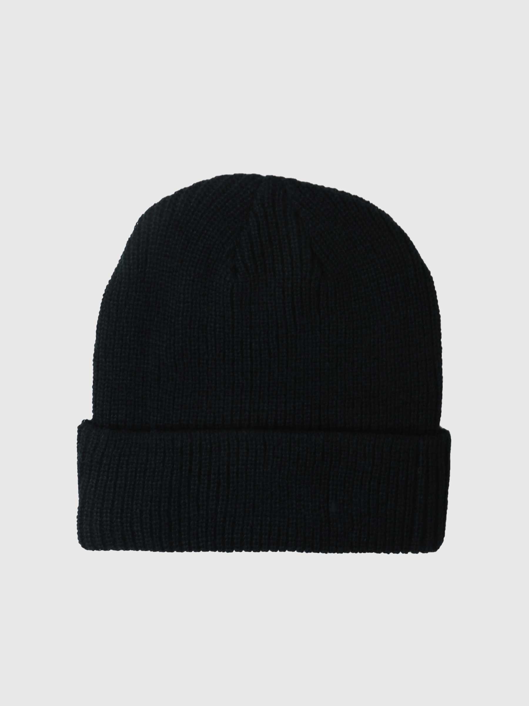 Stussy Basic Cuff Beanie Black 1321019