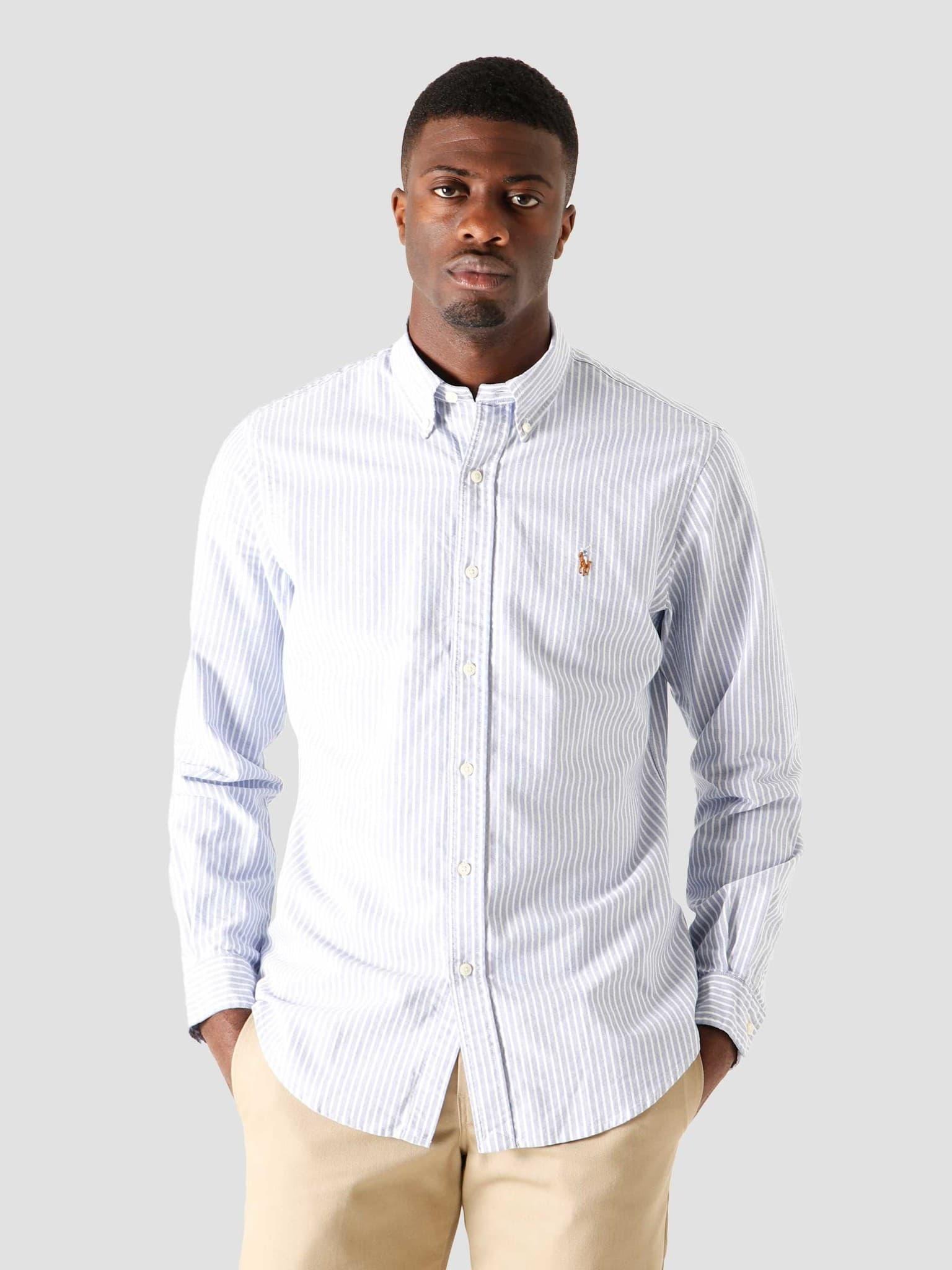 Sport Shirt 4887 Blue White 710815580001