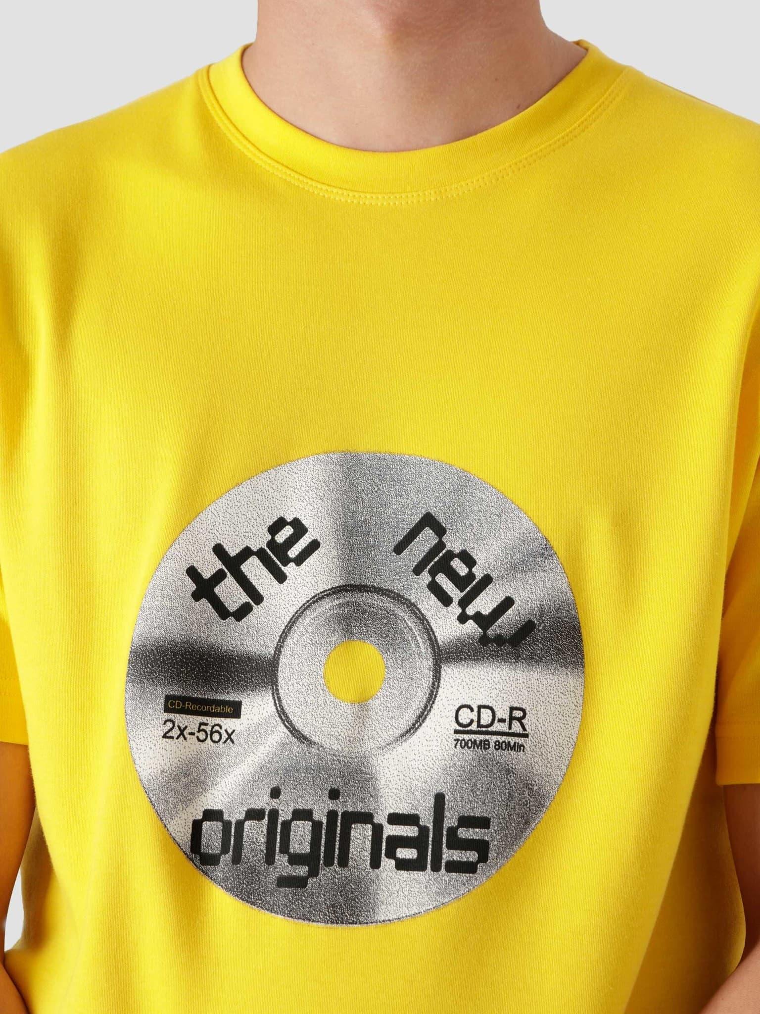 CD-ROM Tee Yellow