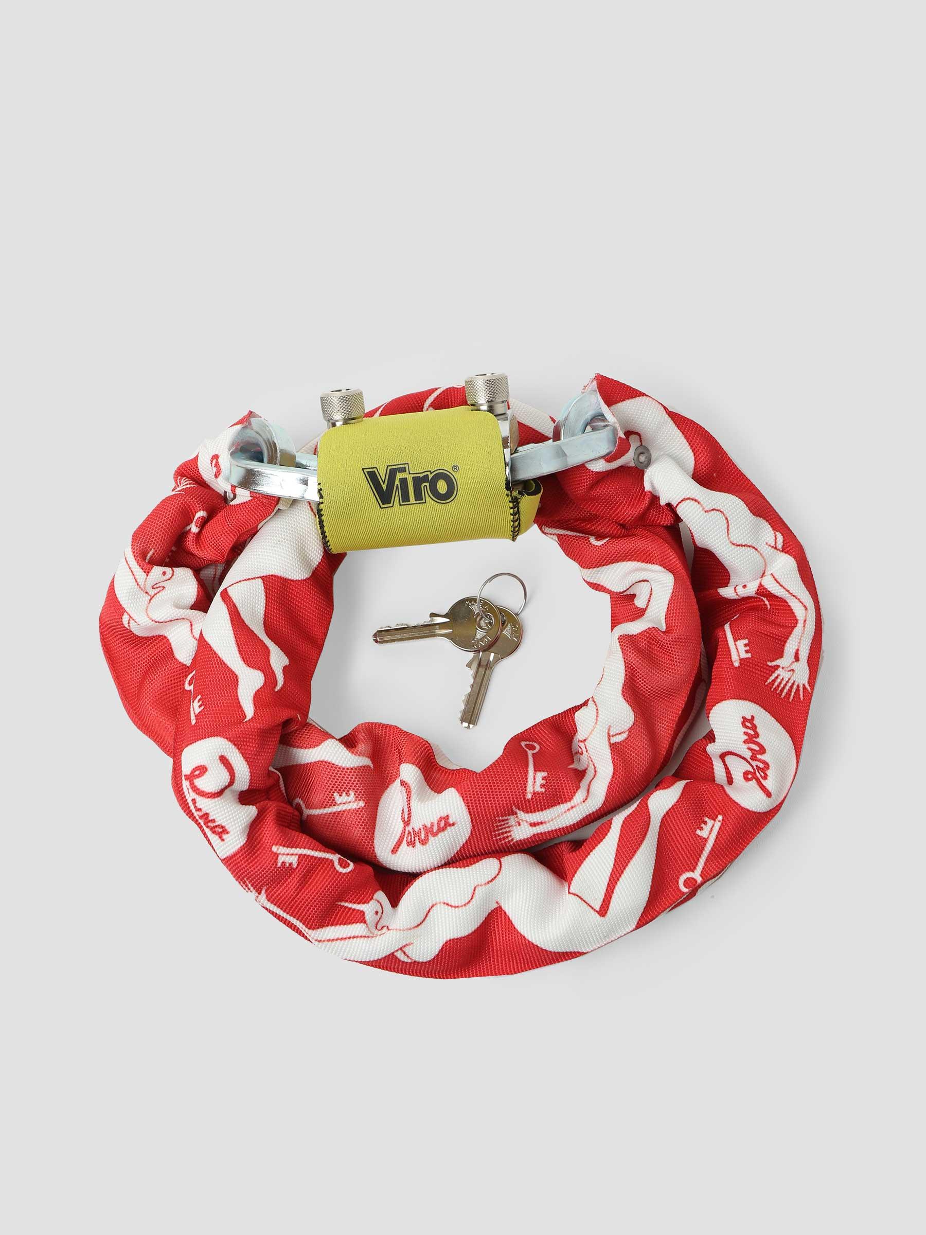 Lost Keys Viro Lock Red 46355