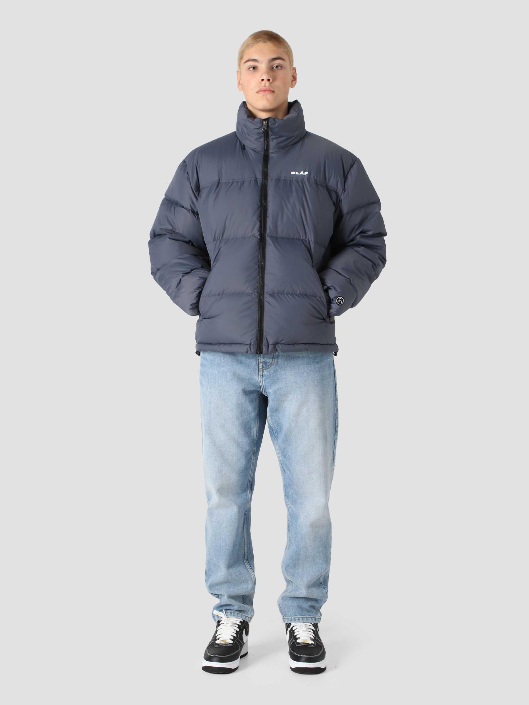OLAF Puffer Jacket Blue Slate