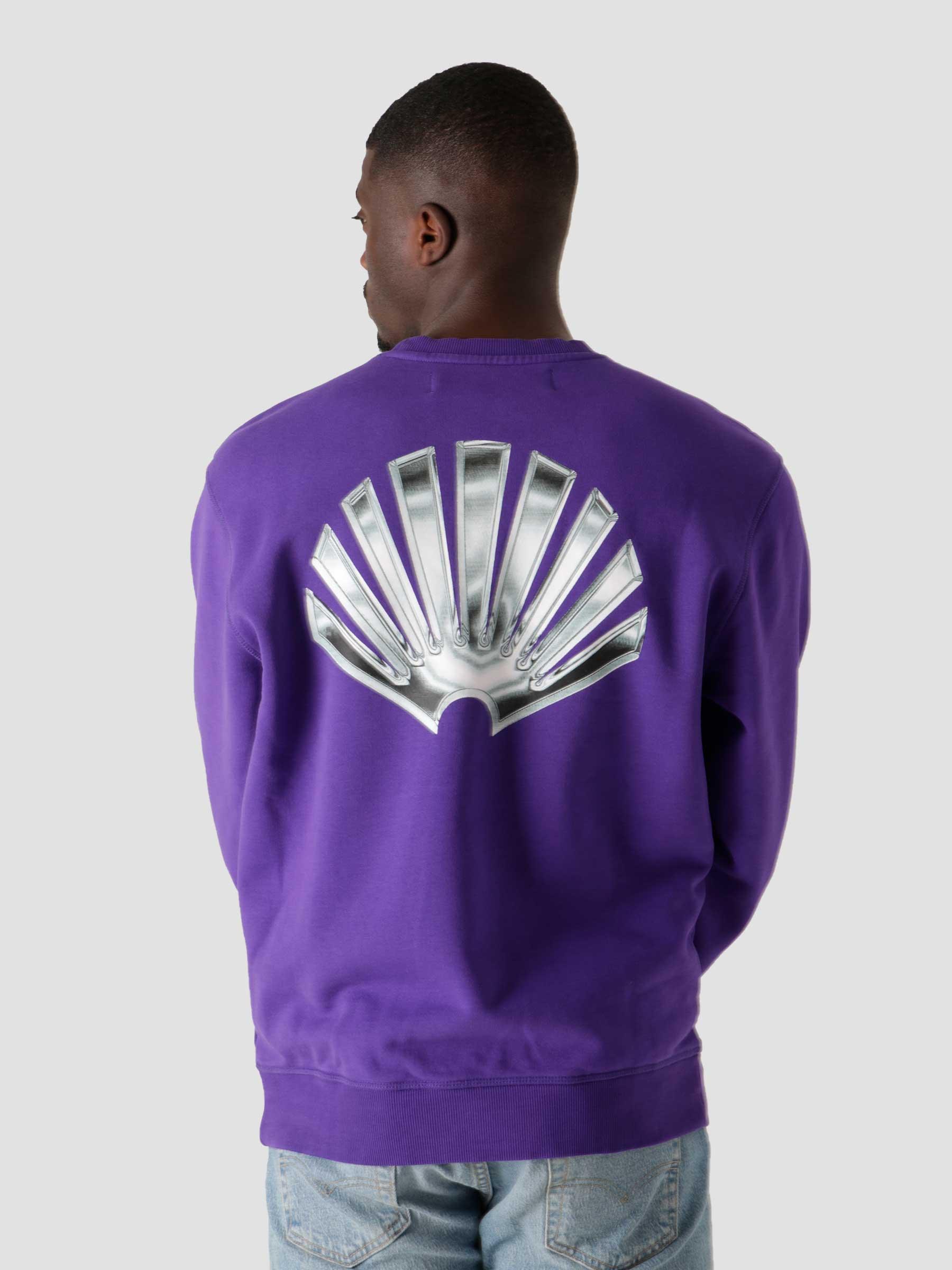 Foil Crewneck Sweat Prism Violet 2021220