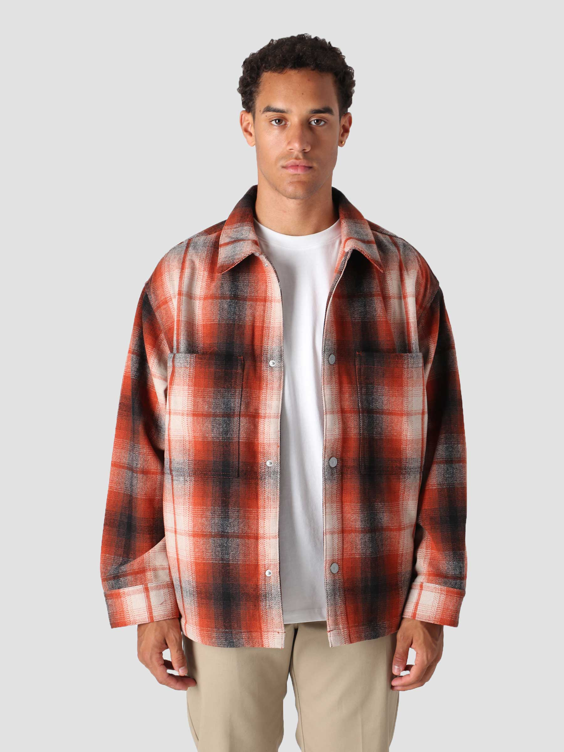 Portola Chore Coat Anatase Pic Reds A0681-0001