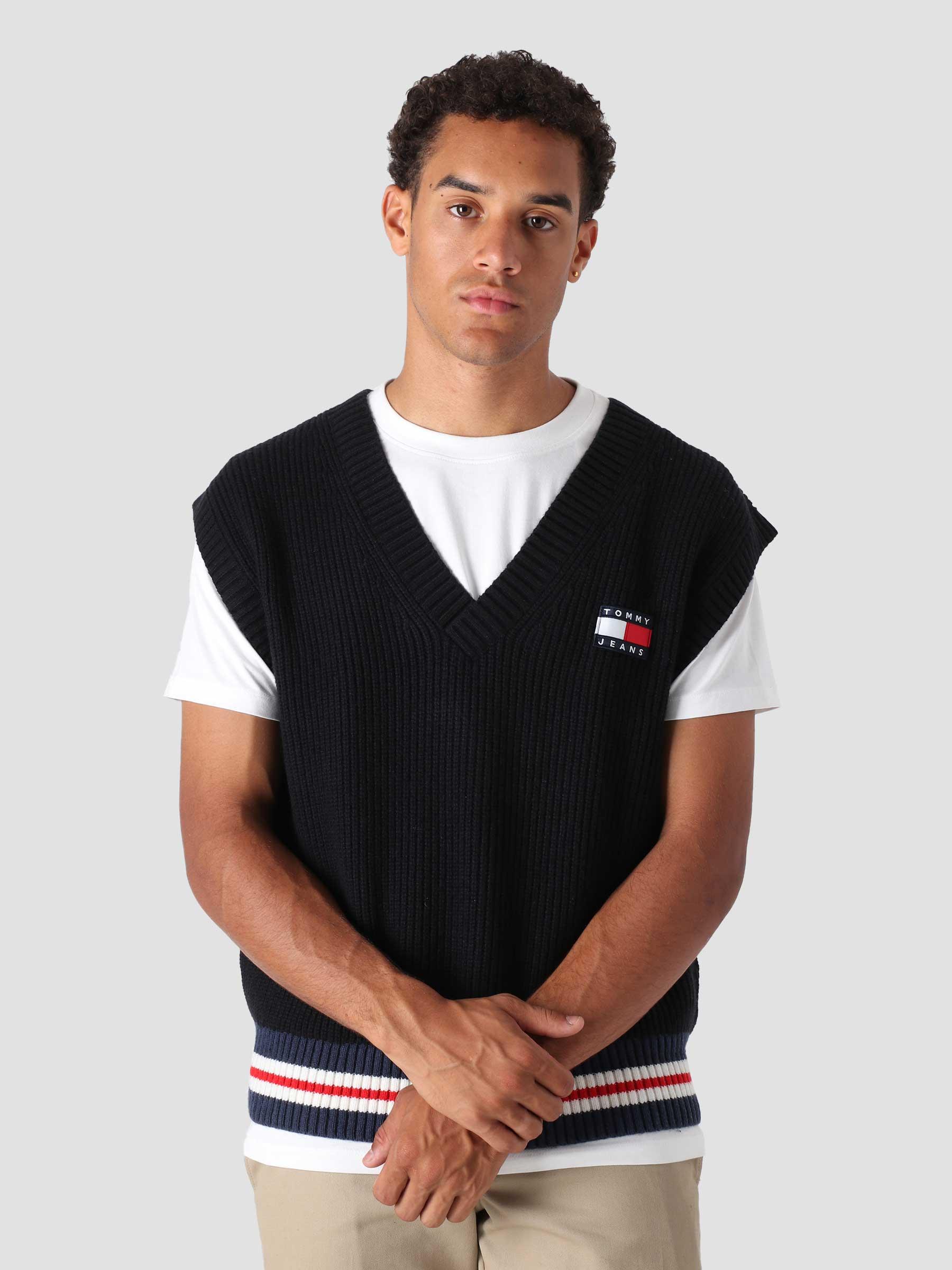 Wool Badge Sweat Black Heather DM0DM11733-BDS
