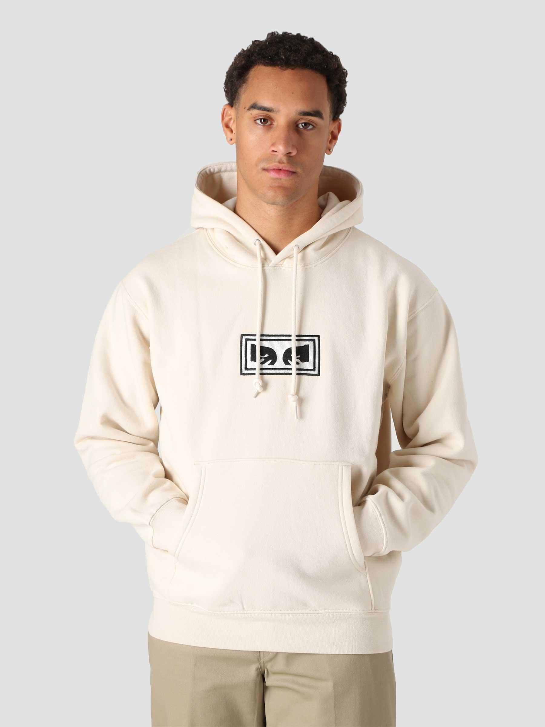 Eyes Logo Hood Hood Fleece (Embellished) Unbleached 112470134