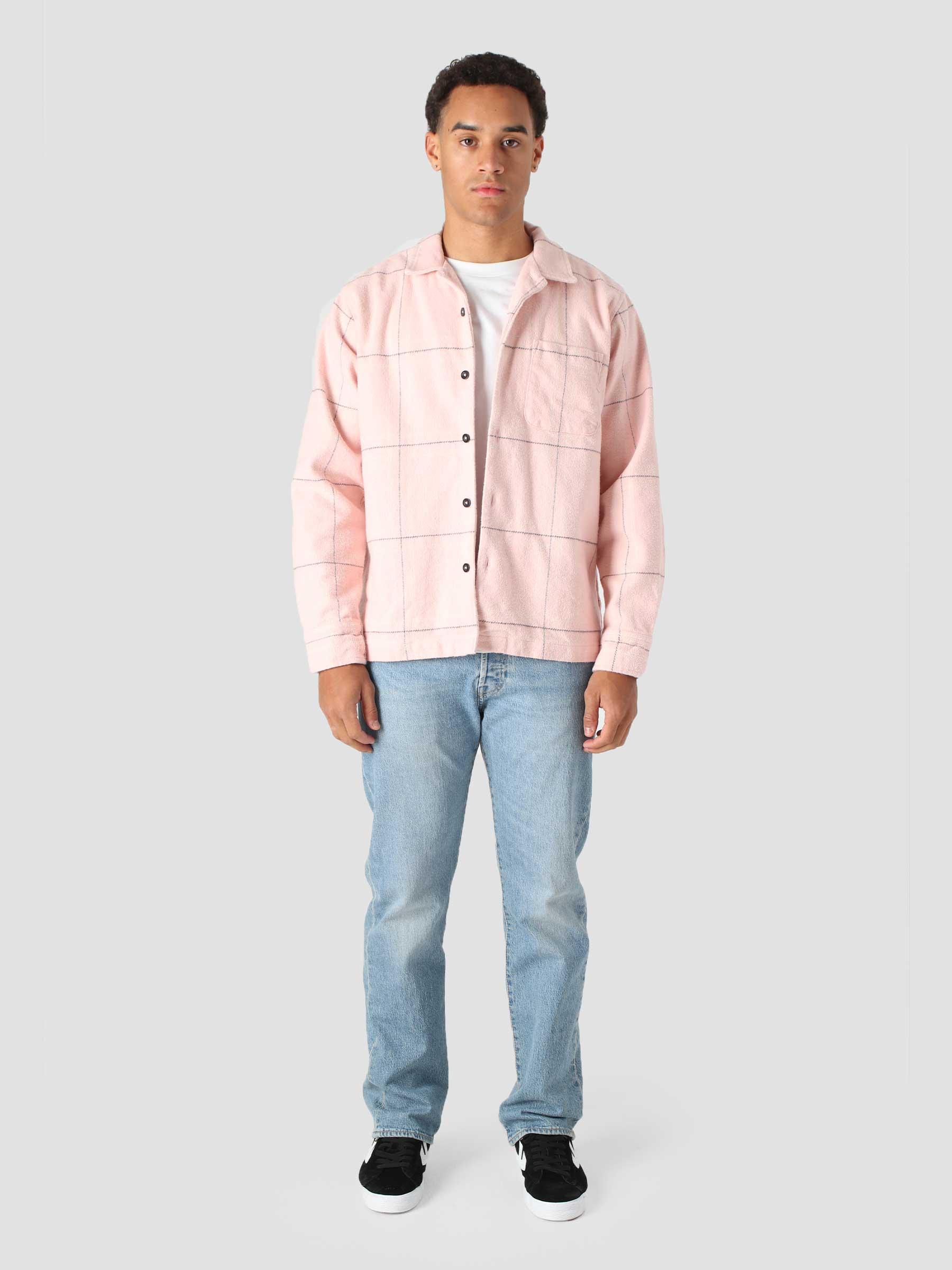 Fiasco Woven Longsleeve Woven Pink Multi 181200336