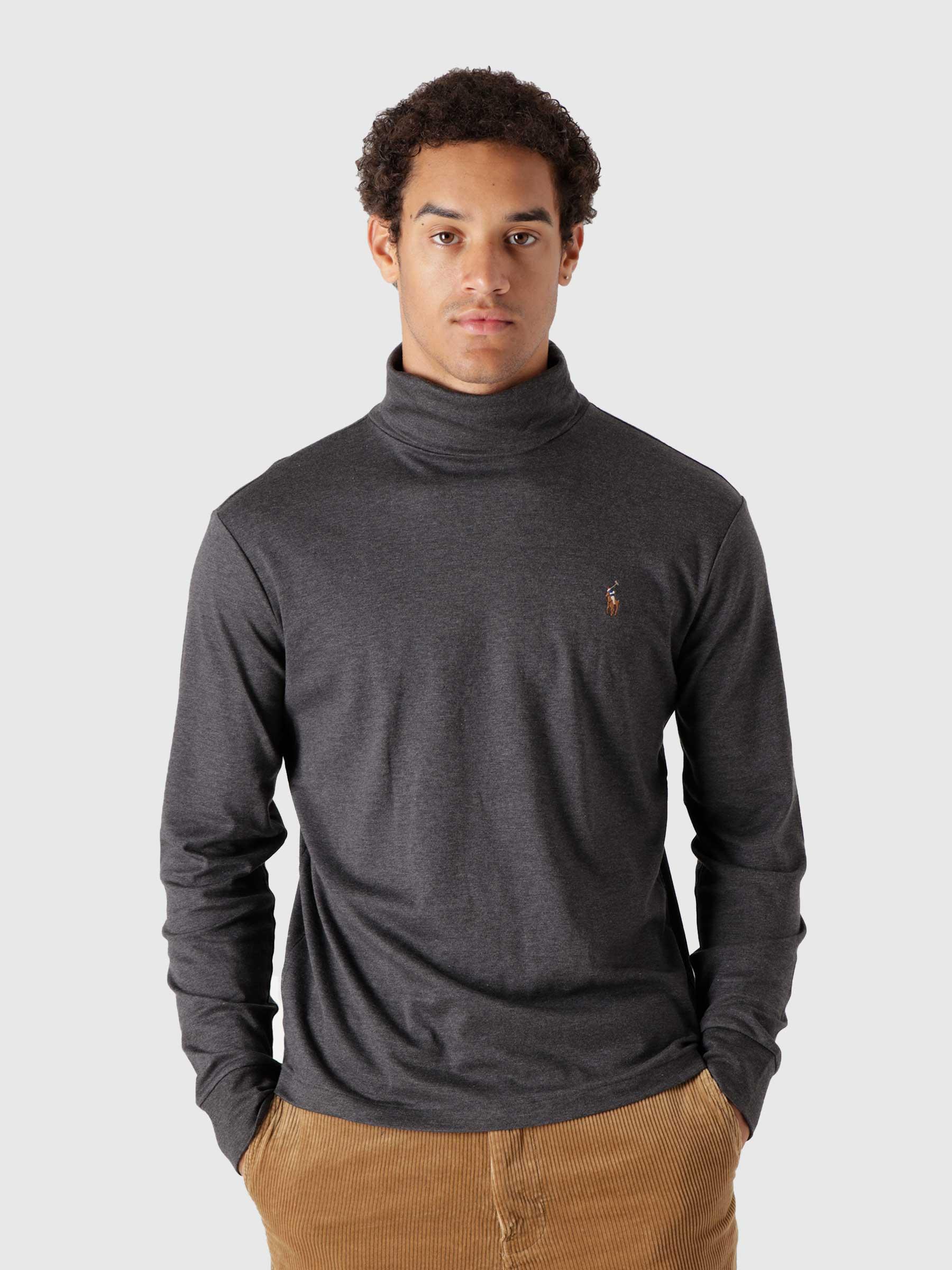 Soft Touch Long Sleeve Knit Dark Grey Heather 710760126011