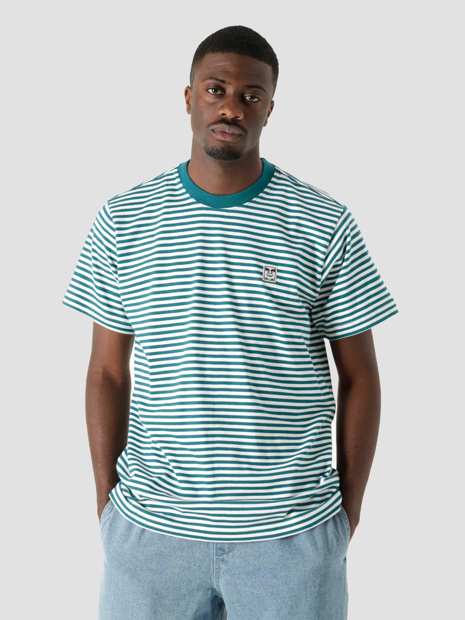 Icon Legacy T-Shirt S/S Knit Deep Ocean Multi 131080310