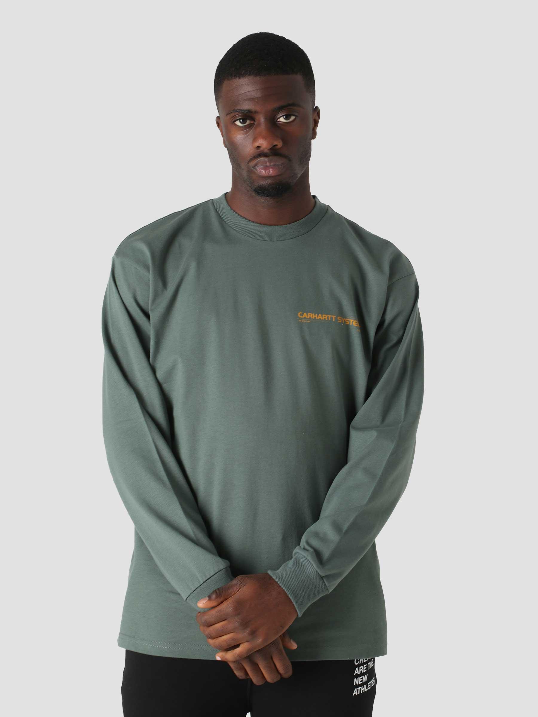 Longsleeve Pyramid T-Shirt Eucalyptus Helios I029622
