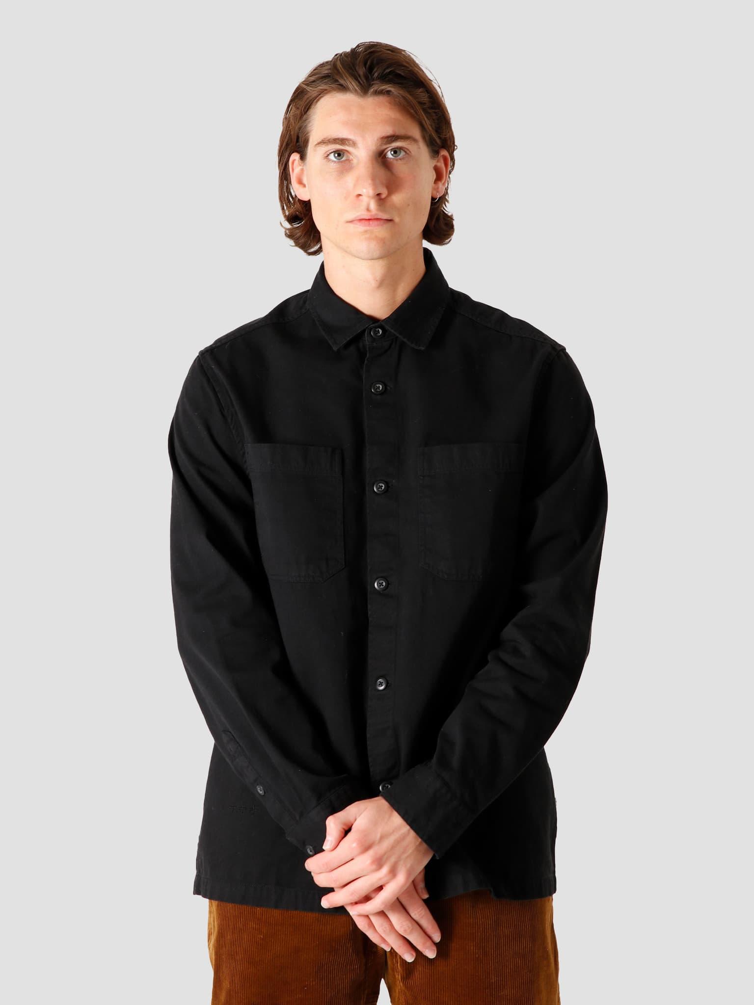 QB42 Overshirt Black