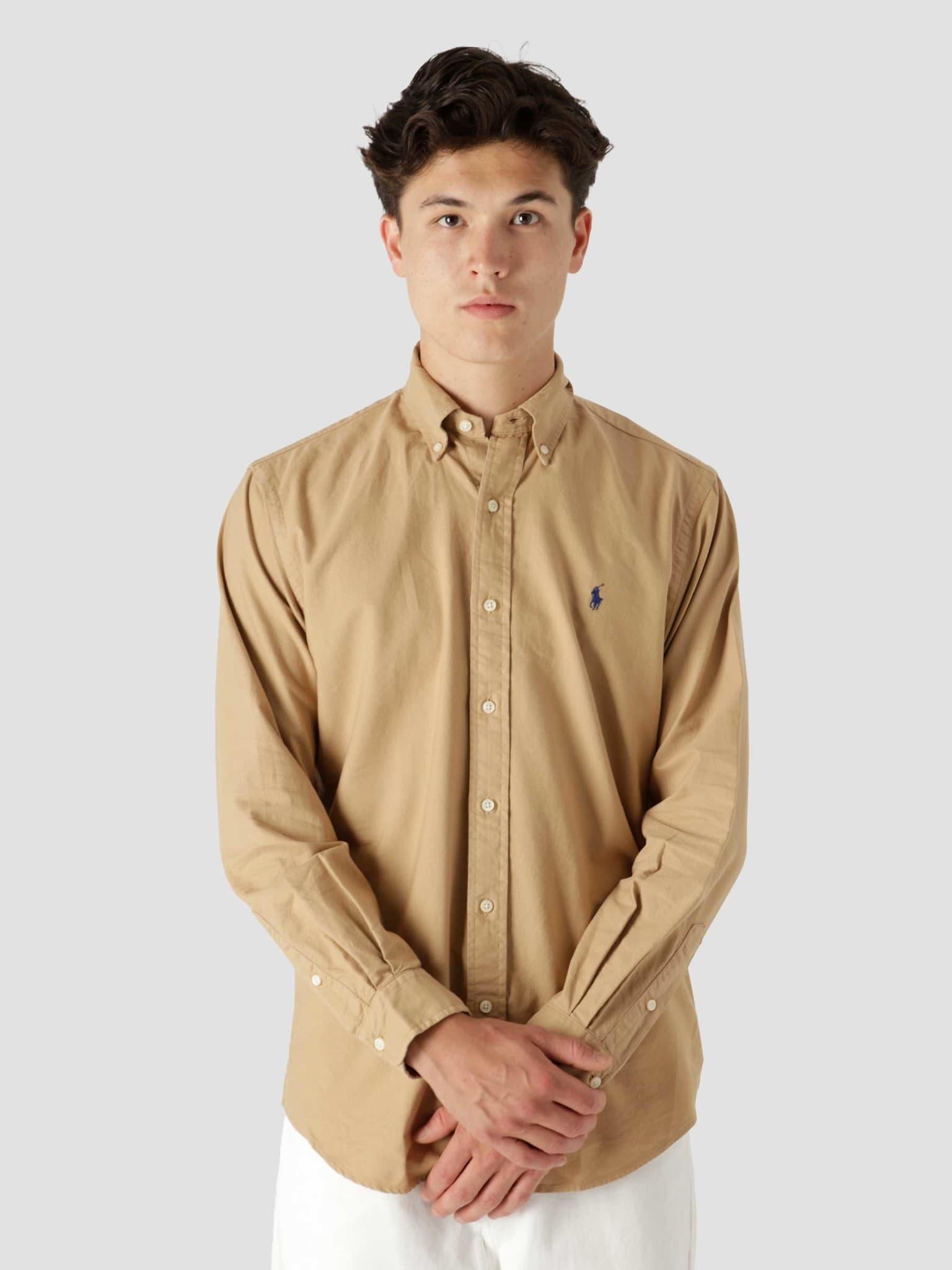 Gd Oxford Shirt Classic Camel 710805564018