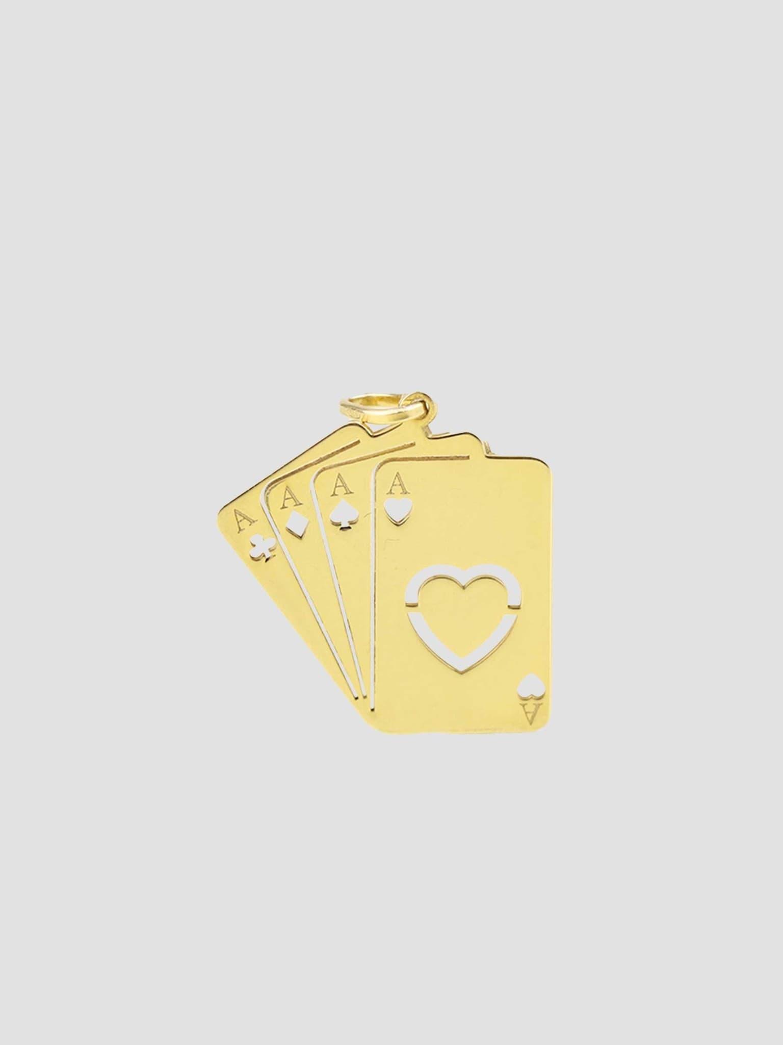 Ace Pendant Gold