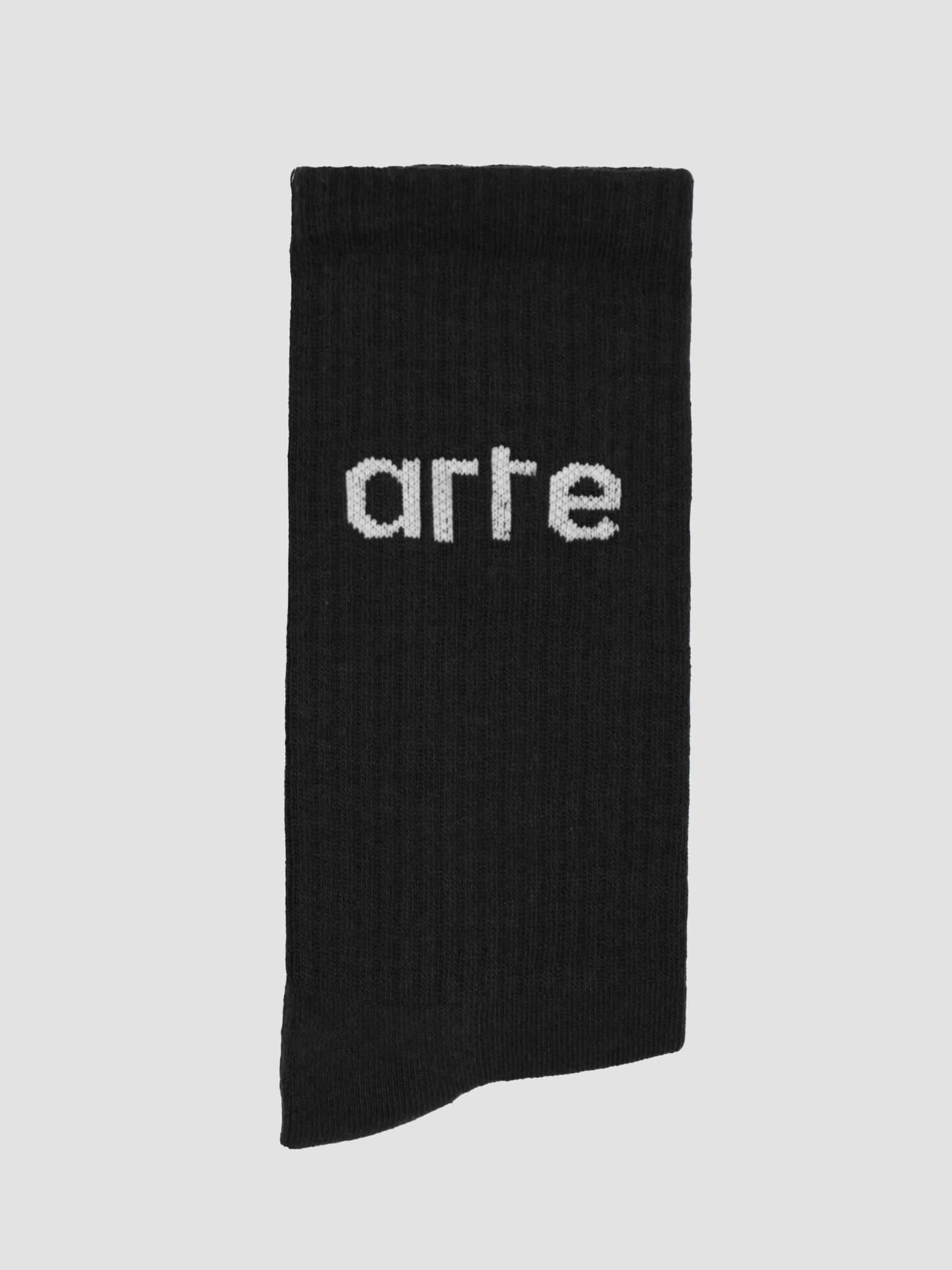 Logo Socks Socks Black AW21-150AC