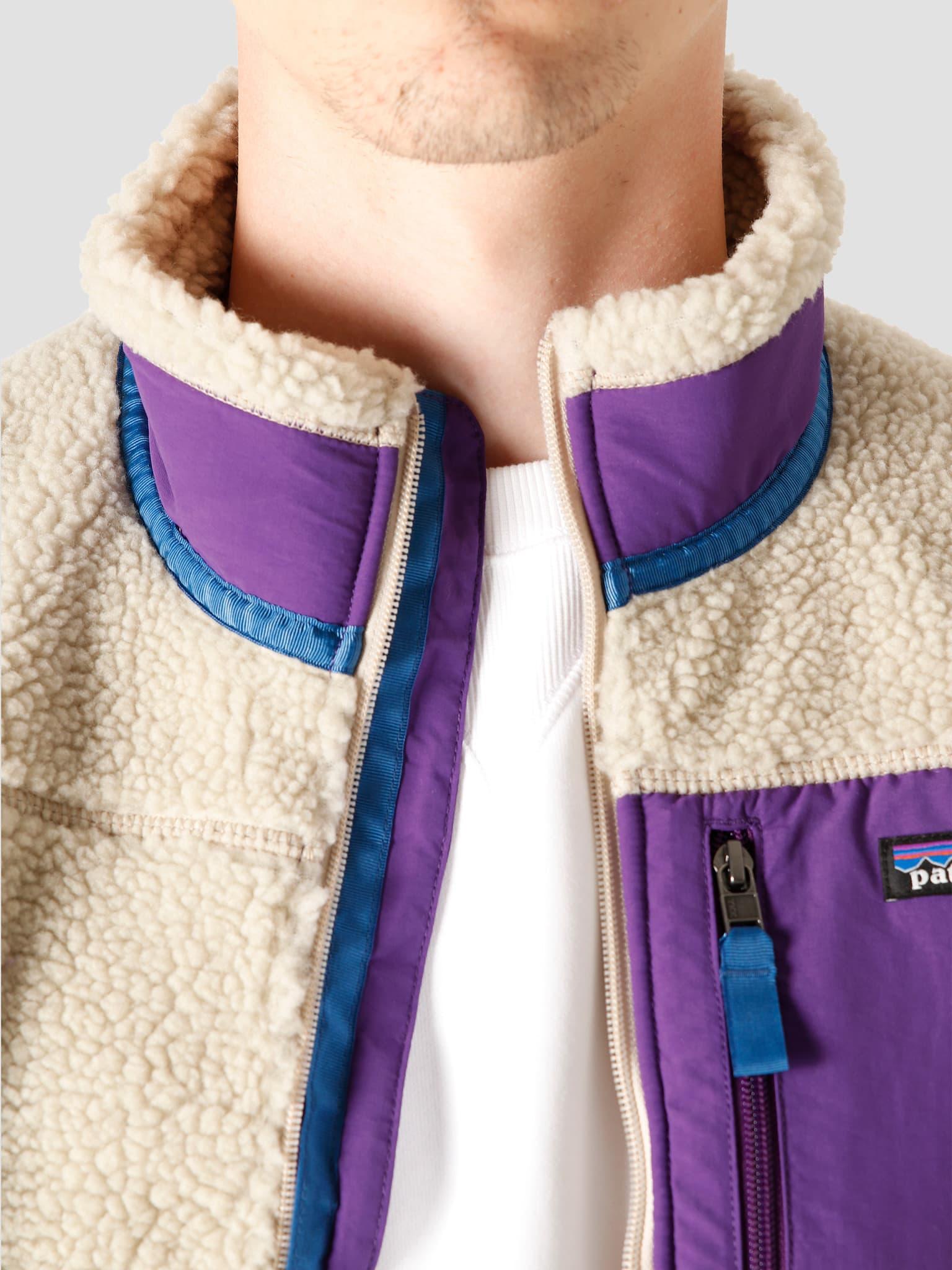 M's Classic Retro-X Vest Pelican Purple 23048