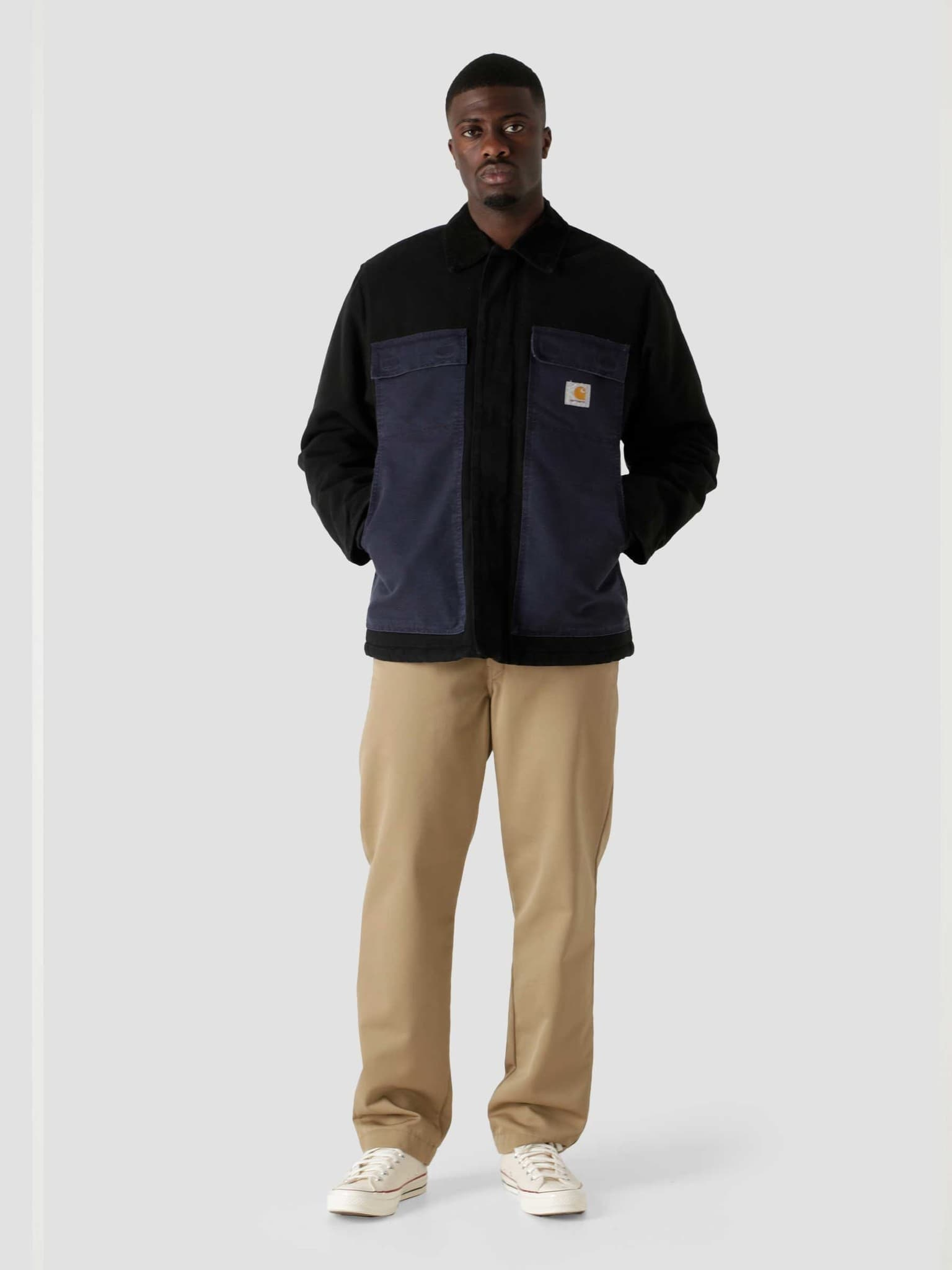 OG Arctic Coat Black Dark Navy I029769