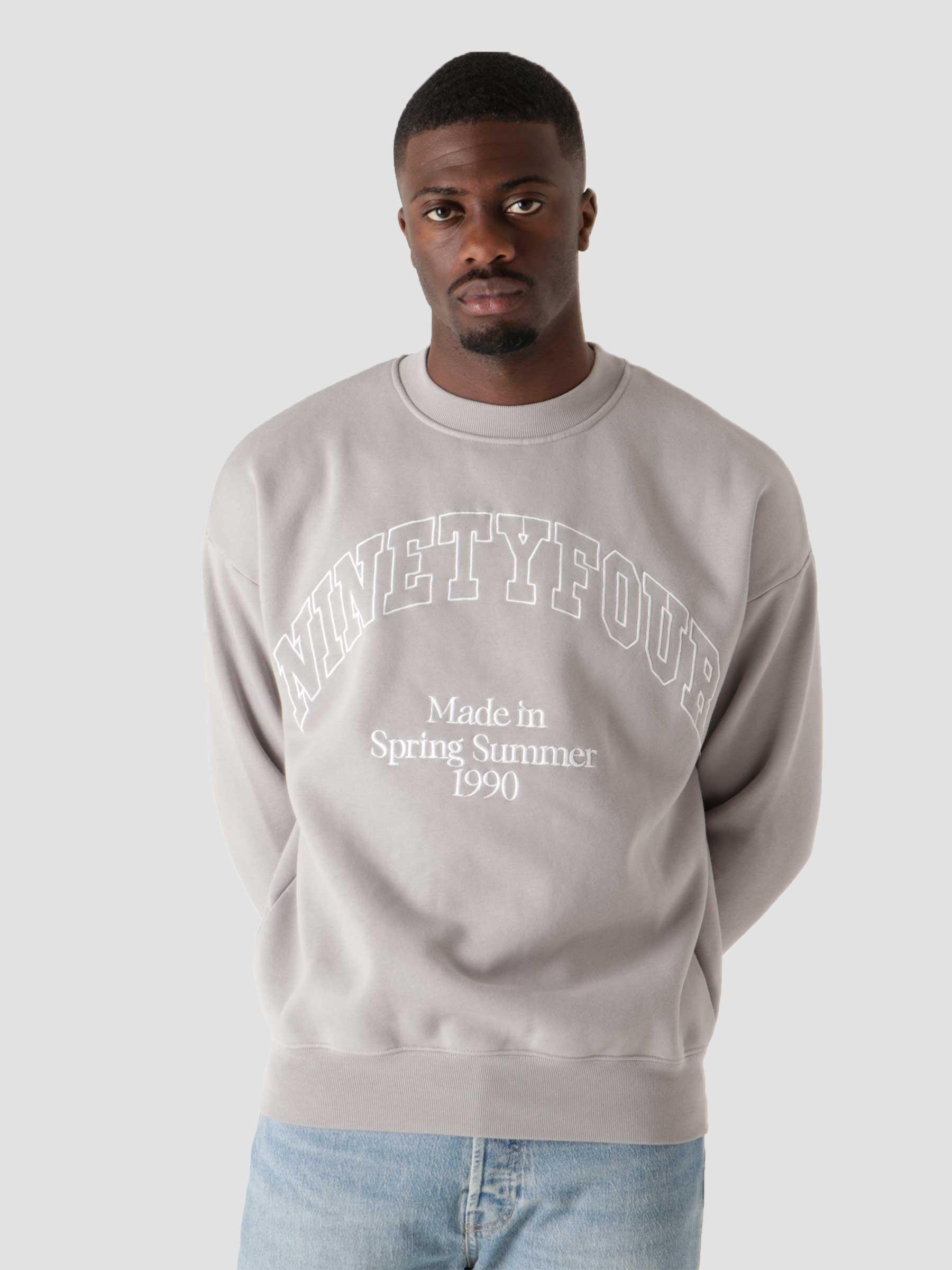 NTF College Sweater Grey