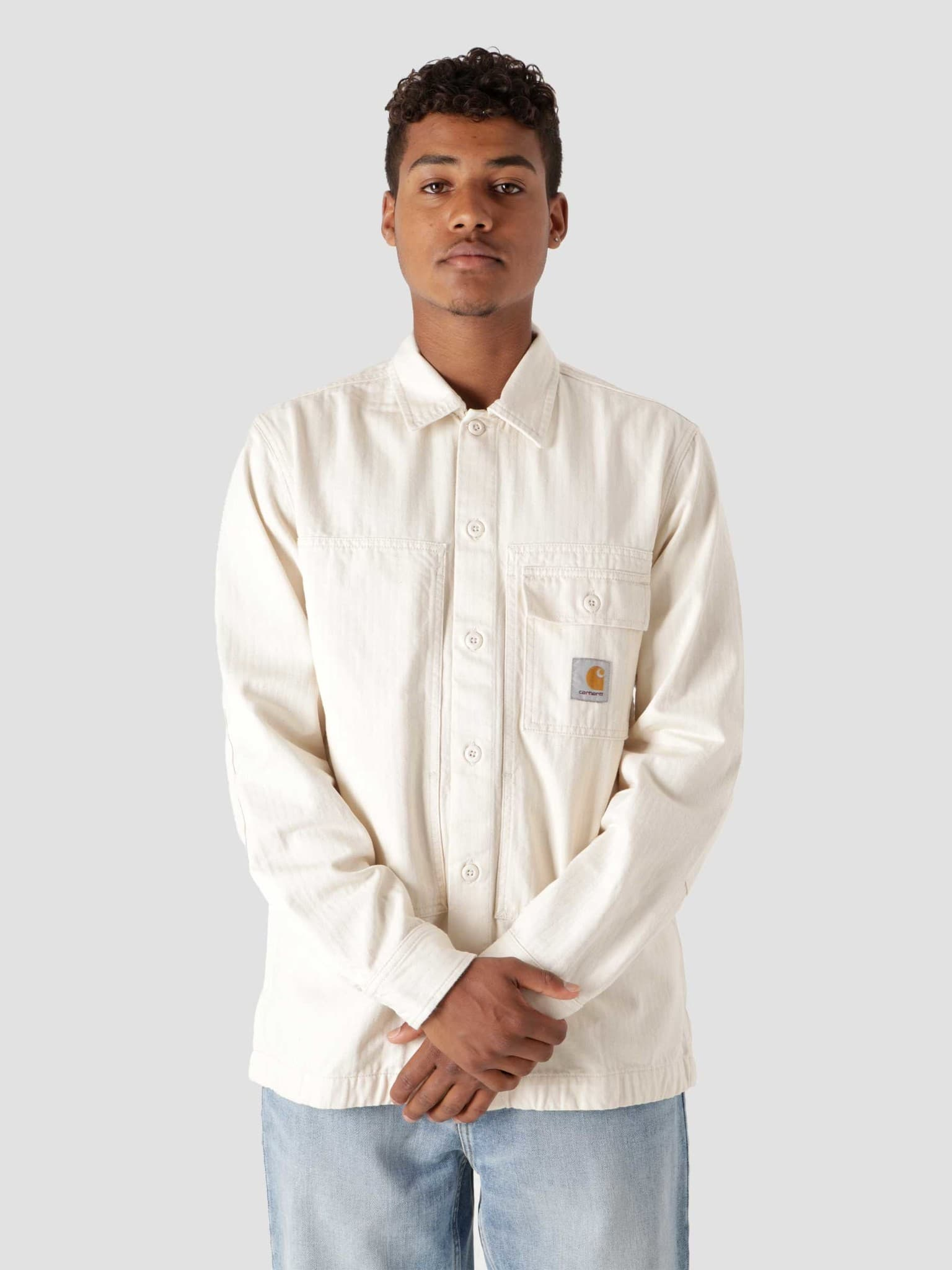 Longsleeve Charter Shirt Natural I029771