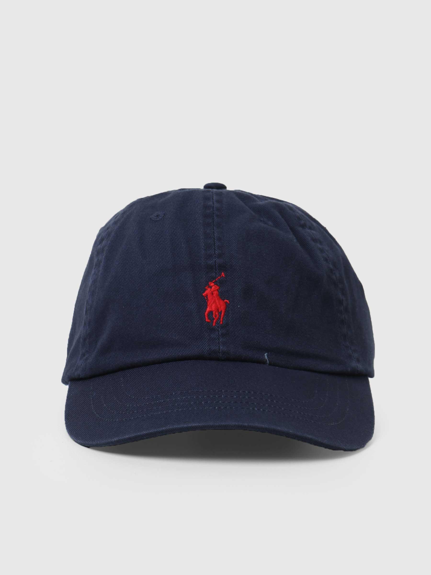 Classic Sport Cap Newport Navy Red 710548524007