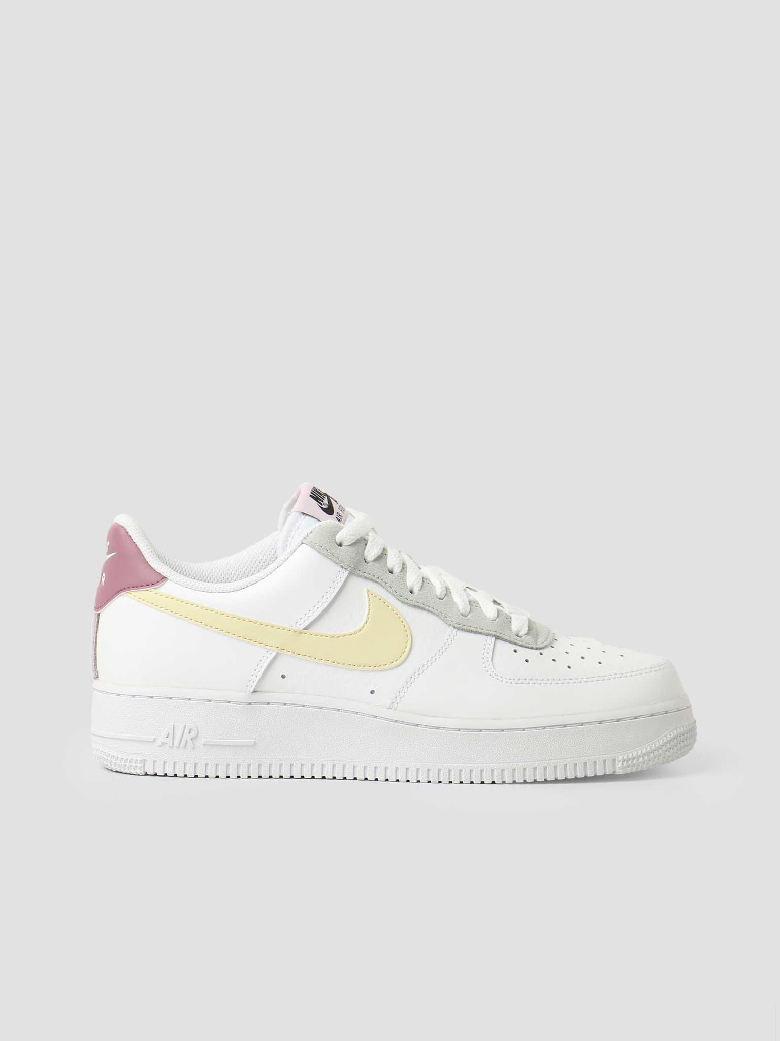 Wmns Nike Air Force 1 '07 Ess White Lemon Drop Regal Pink DN4930-100